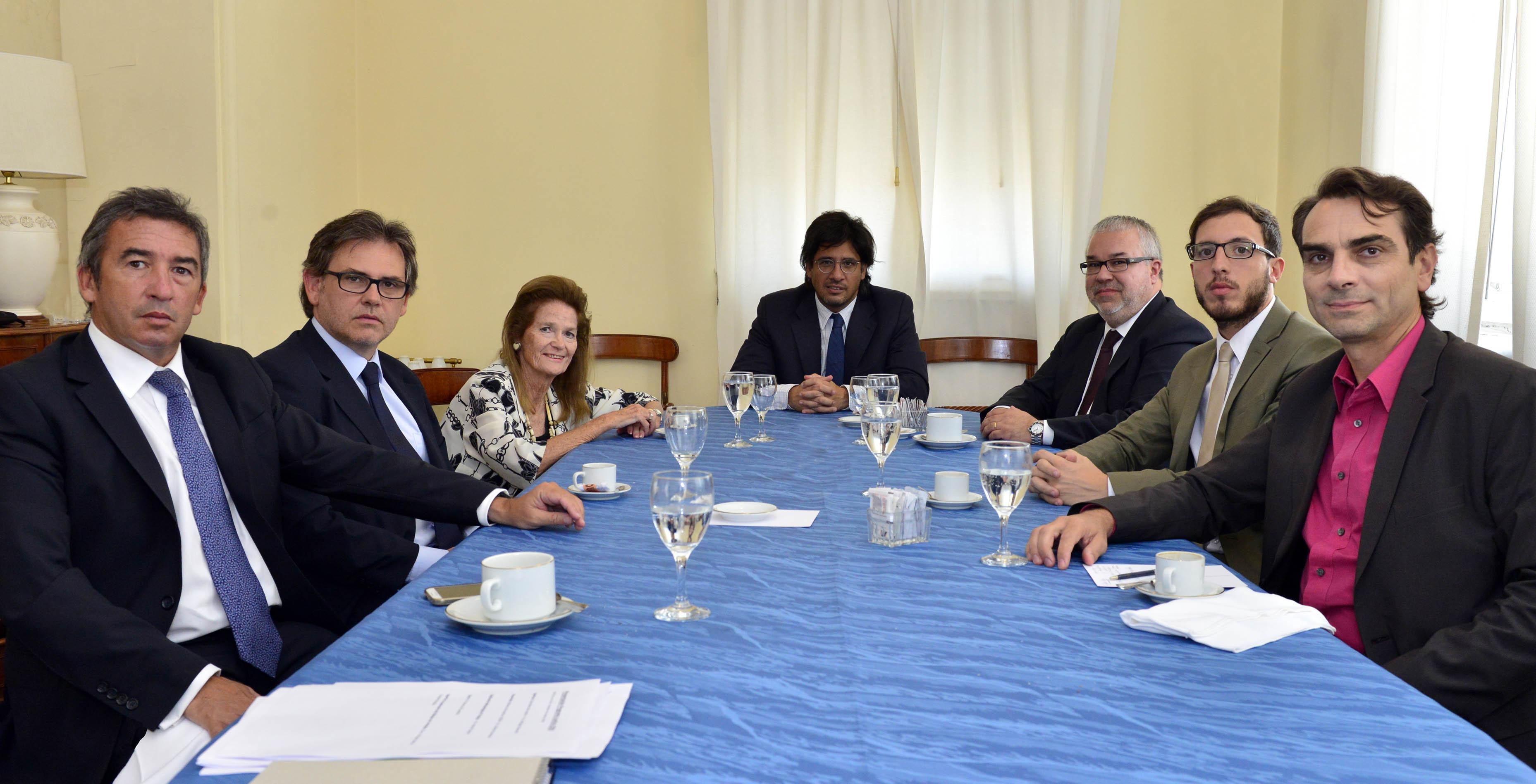 Highton y Garavano se reunieron con representantes del Centro de Estudios de Justicia de la OEA