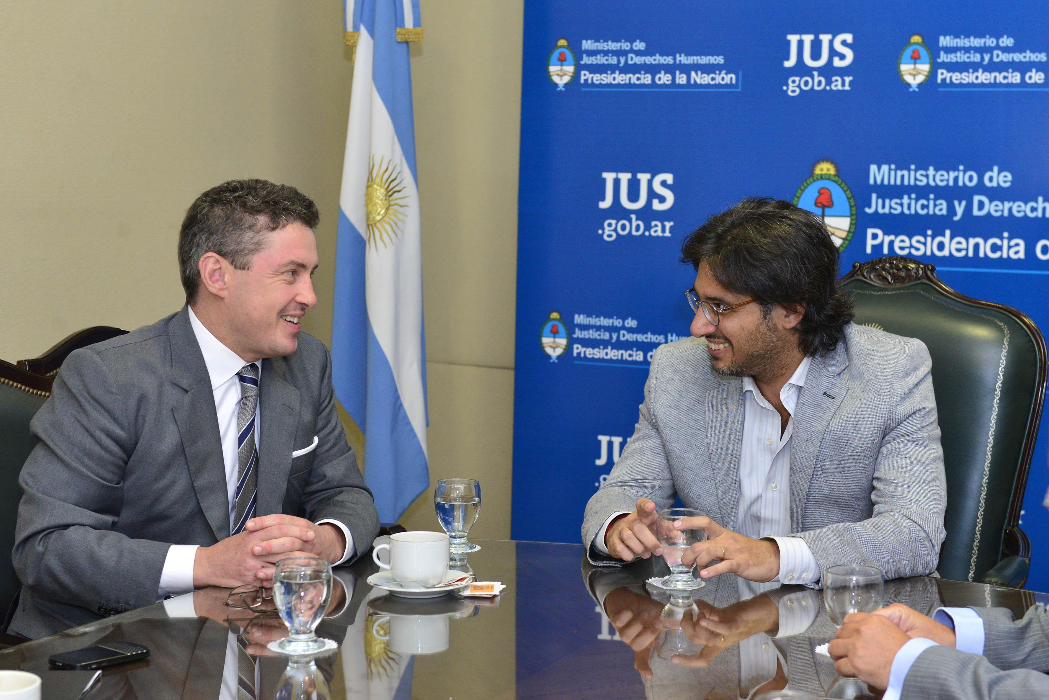 Garavano recibió al embajador de Estados Unidos