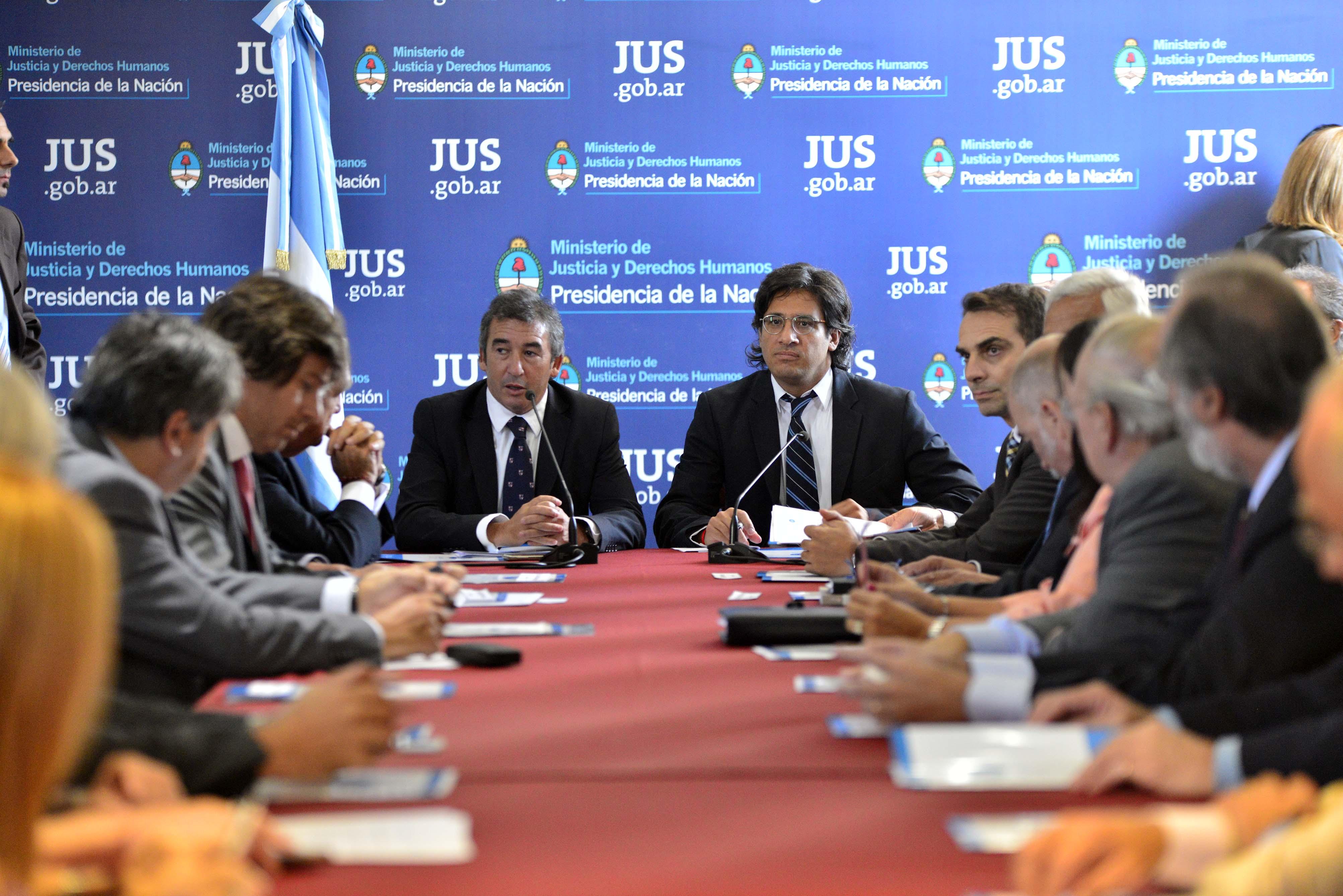 Garavano presentó Justicia 2020 a la justicia Nacional y Federal