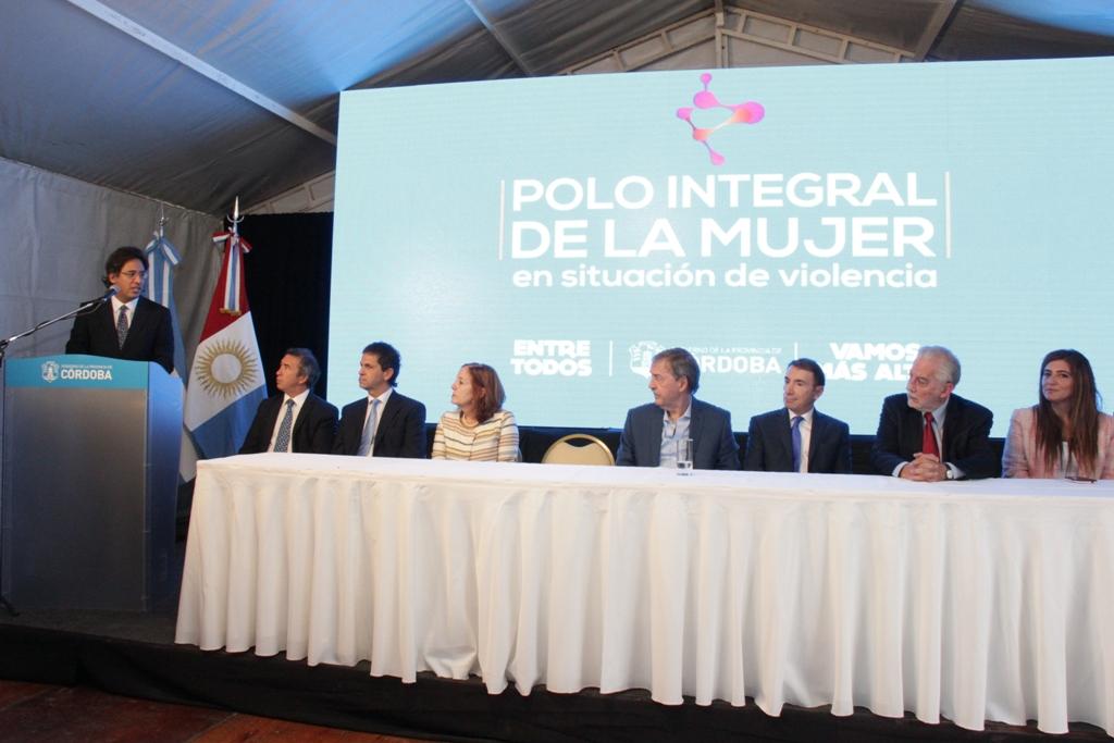 Córdoba: Garavano participó en la inauguración del Polo Integral de la Mujer en Situación de Violencia