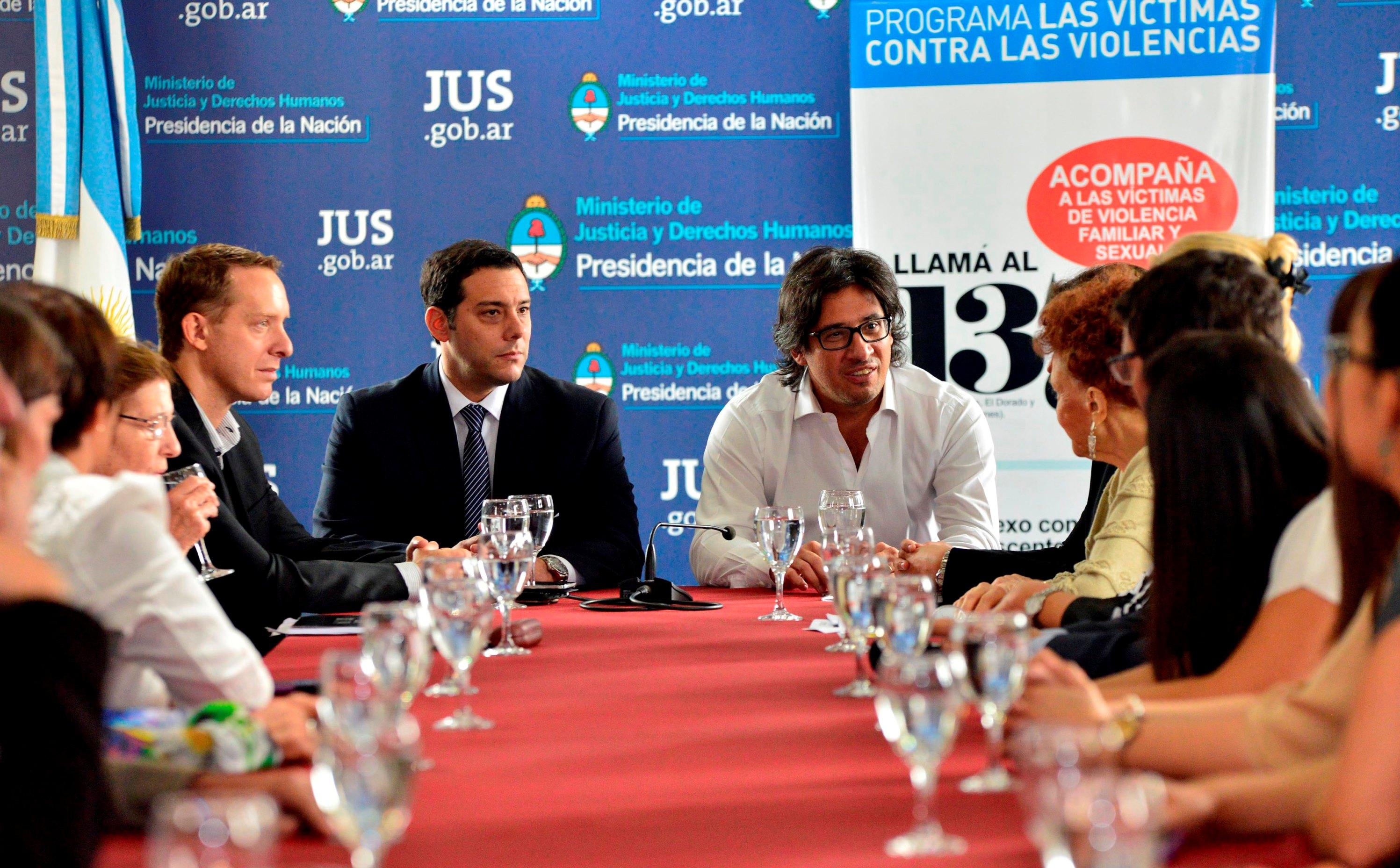 El Ministerio firma convenio de cooperación para llevar el Programa Victimas contra las Violencias a Misiones