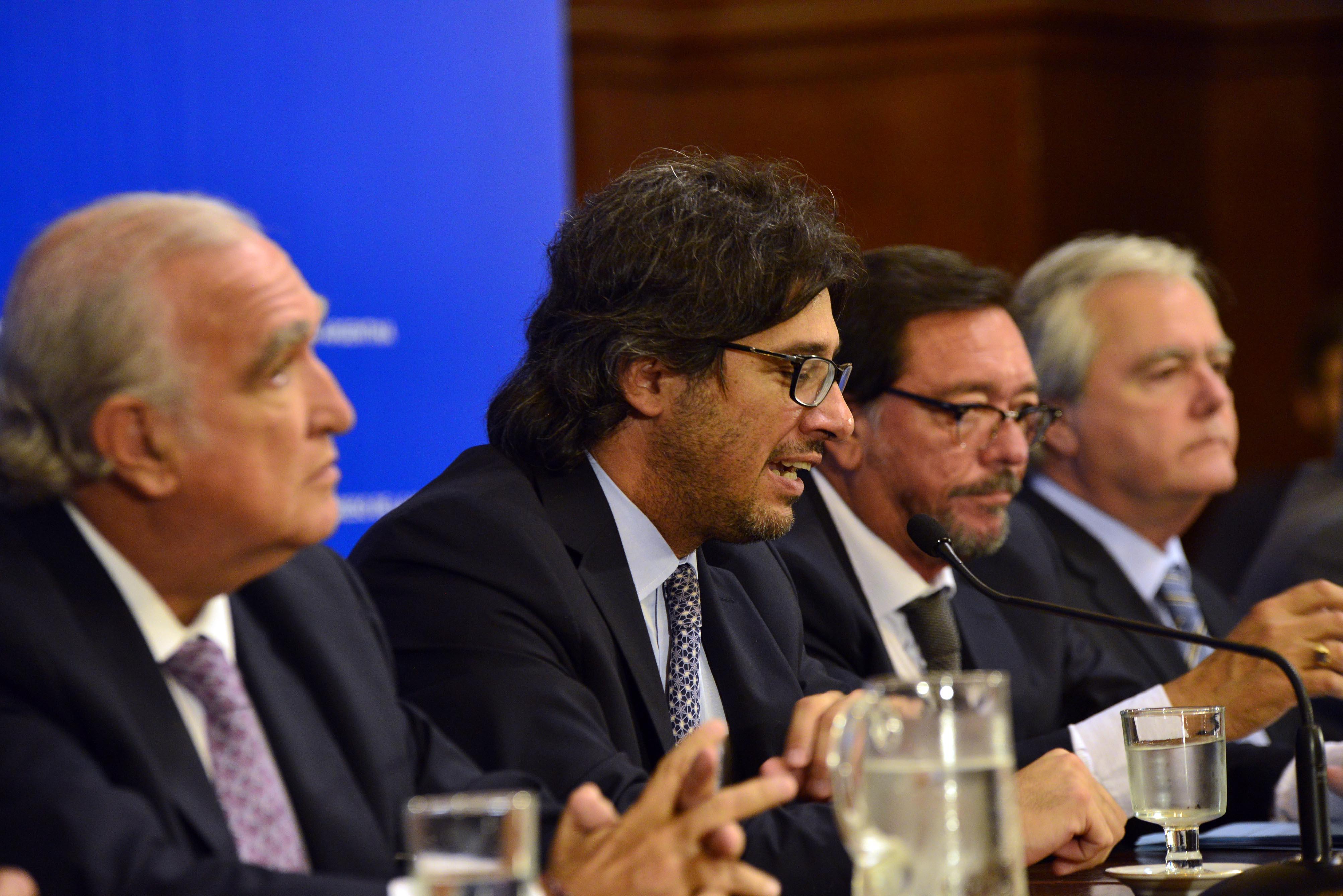 El ministro Garavano presentó Justicia 2020 en el Senado
