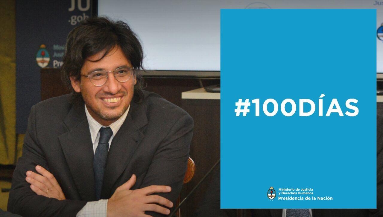 100 días de Justicia y Derechos Humanos