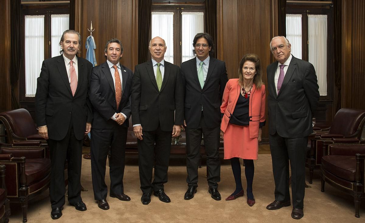 Garavano presentó Justicia 2020 en la Corte Suprema