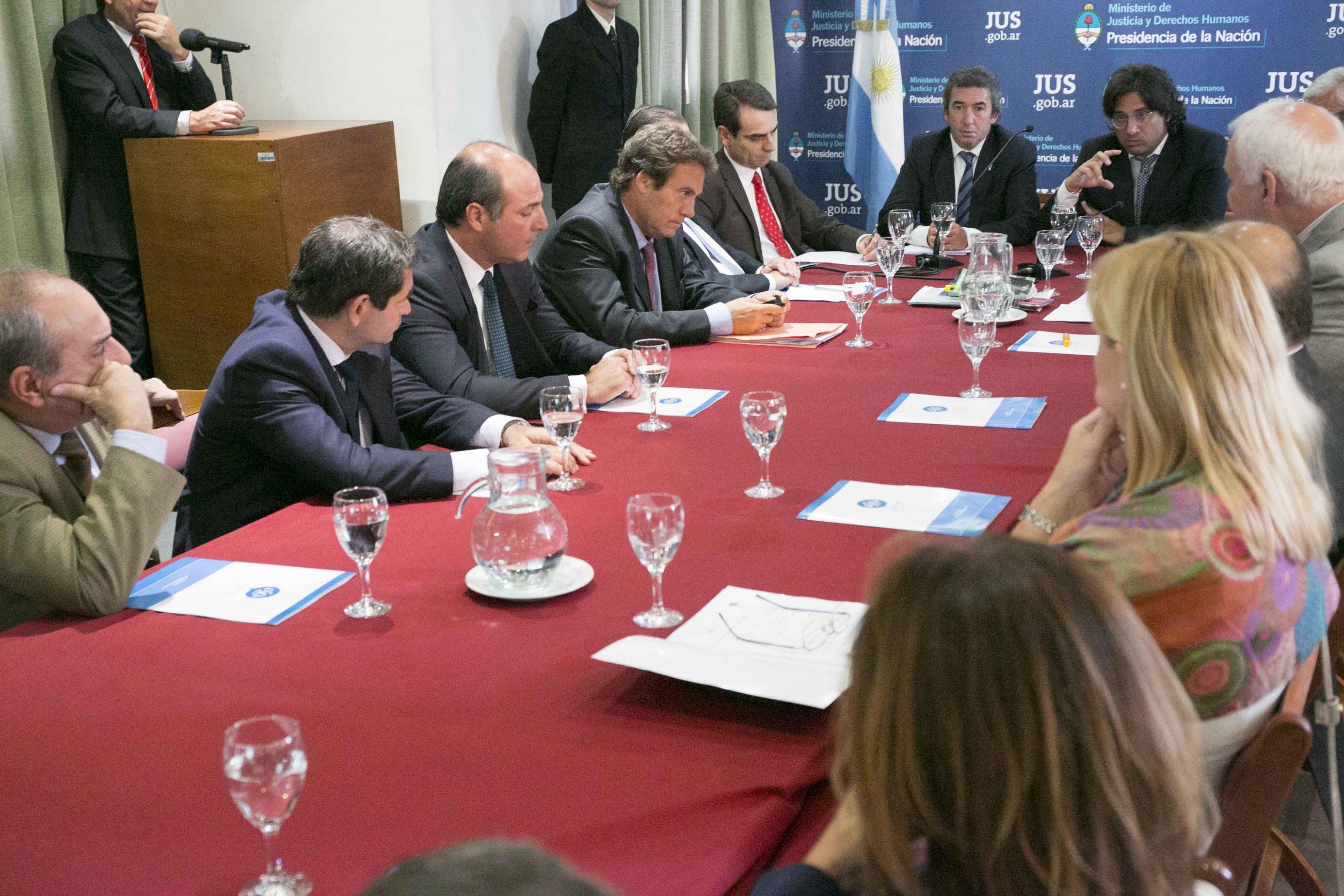 Garavano presentó Justicia 2020 a los jueces de los Tribunales Orales en lo Criminal de la ciudad de Buenos Aires