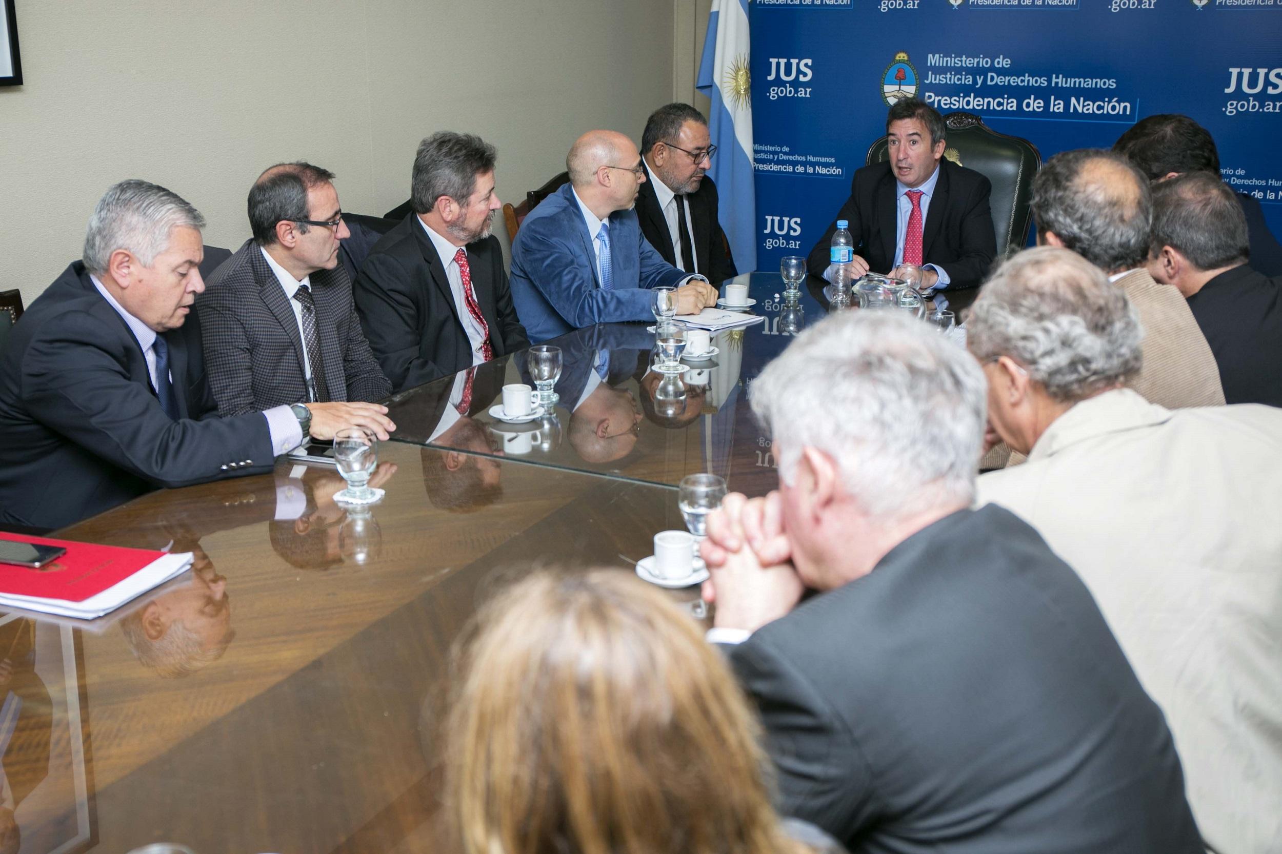 Garavano se reunió con fiscales coordinadores de distrito