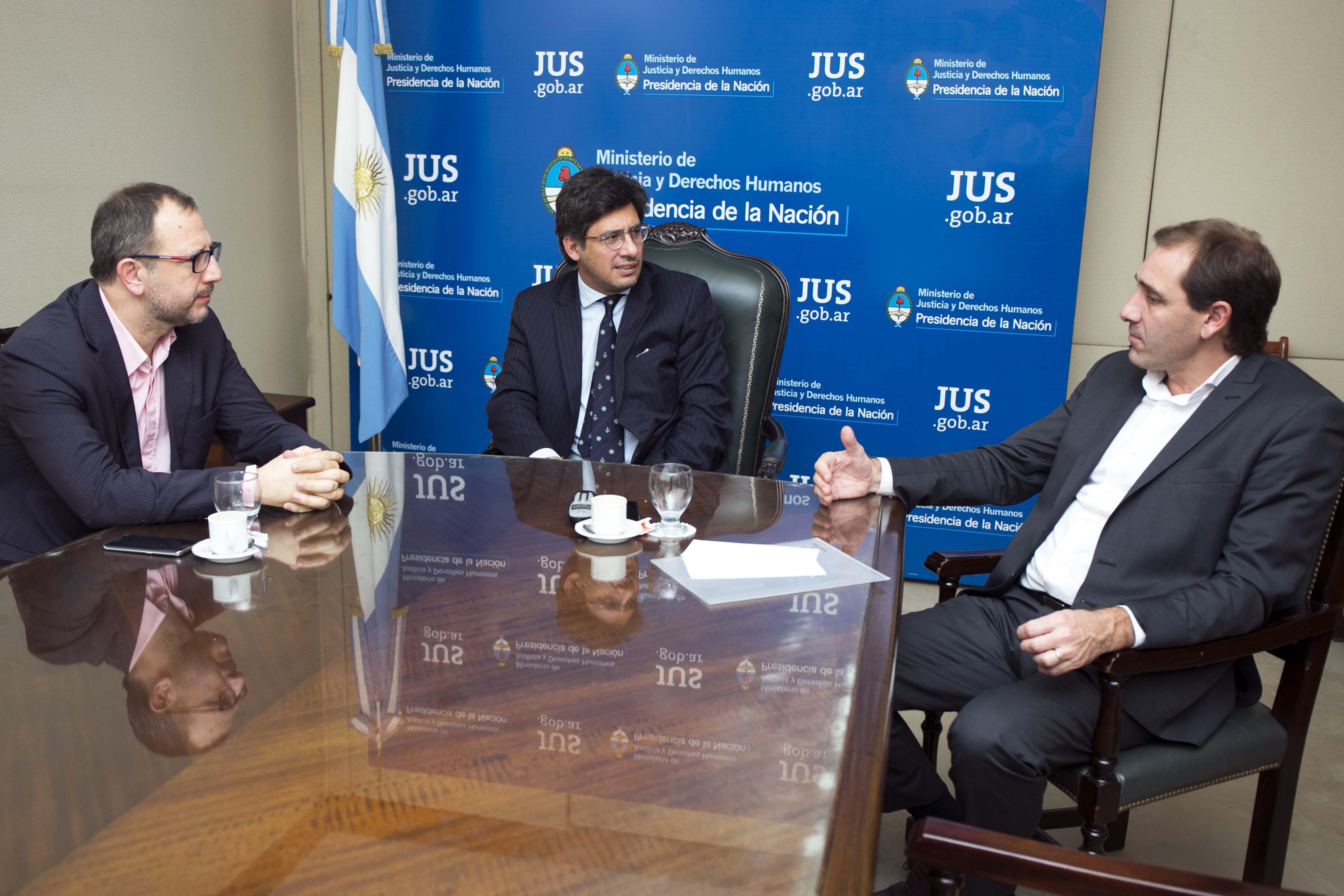 Reunión de trabajo con la provincia de Buenos Aires y la ciudad de La Plata