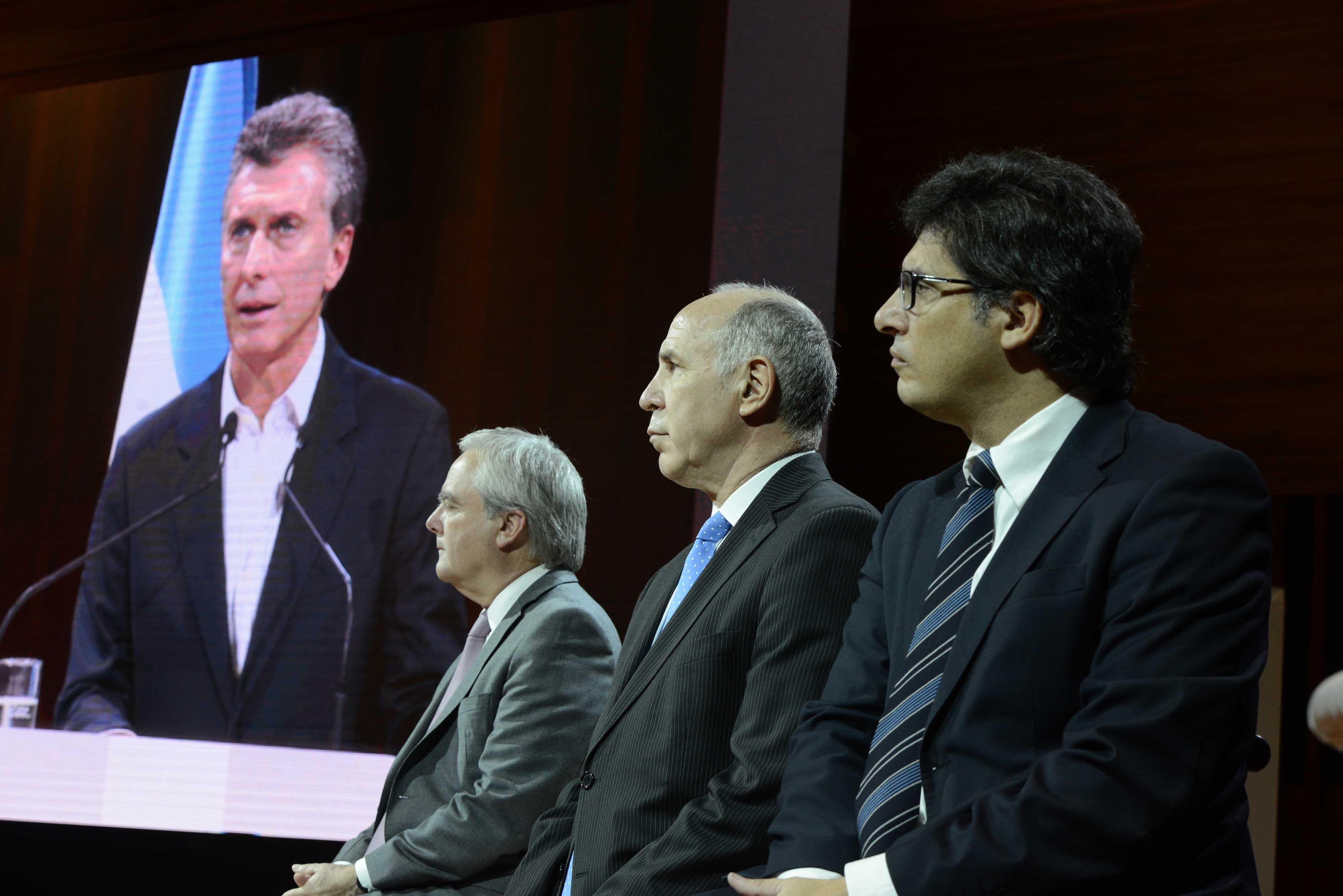 Macri y Garavano encabezaron una reunión de Justicia 2020