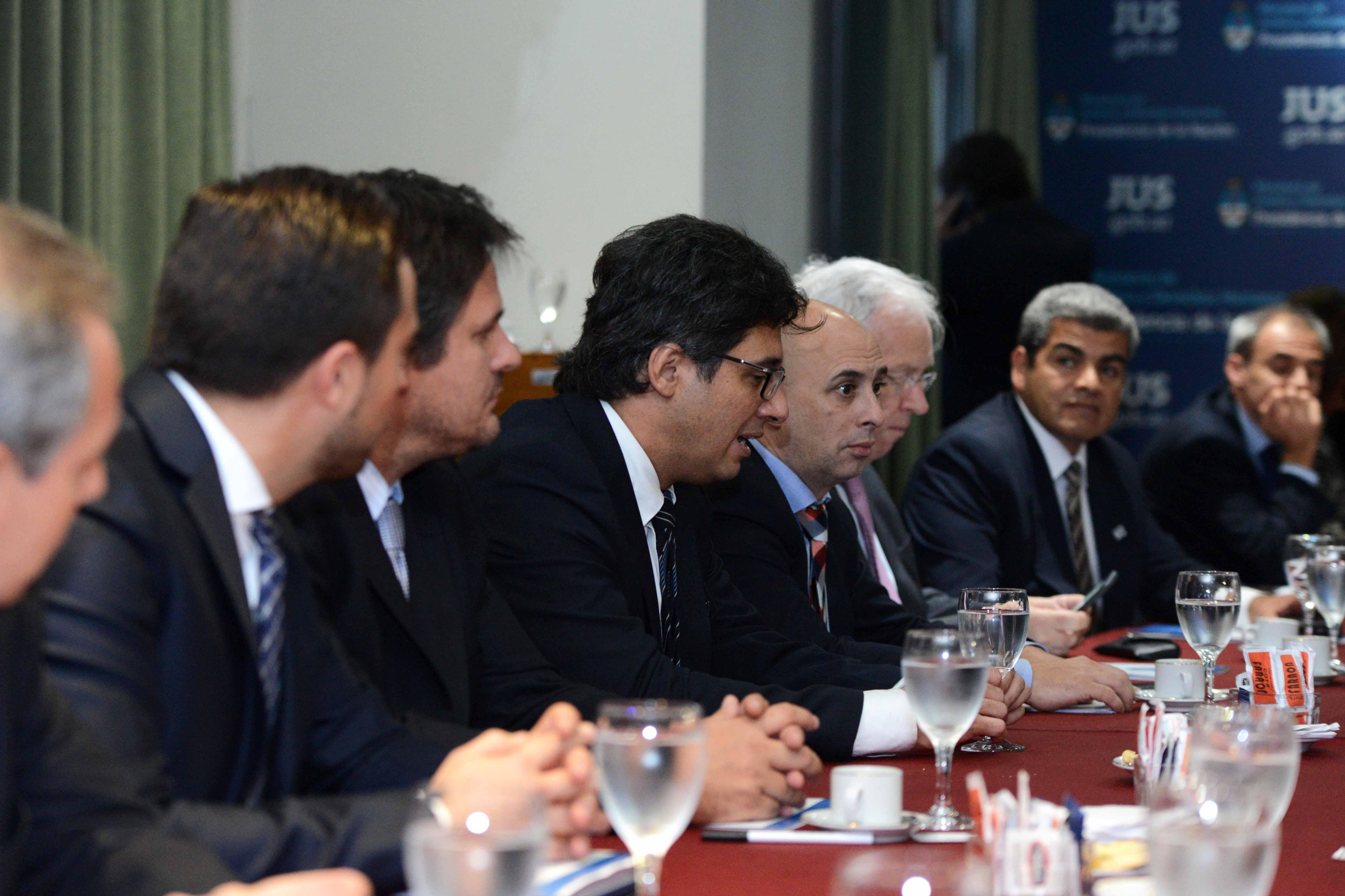 Garavano se reunió con los ministros de Justicia provinciales