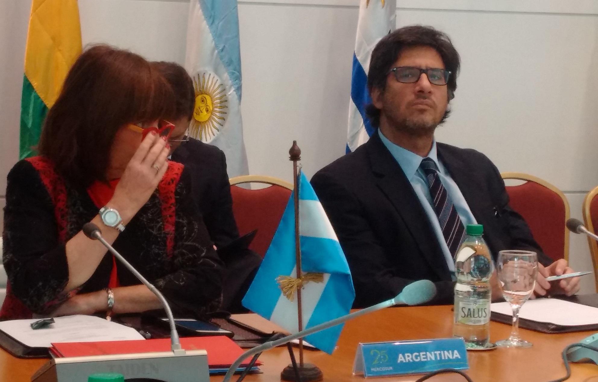 Uruguay: Garavano se reunió con ministros del Mercosur