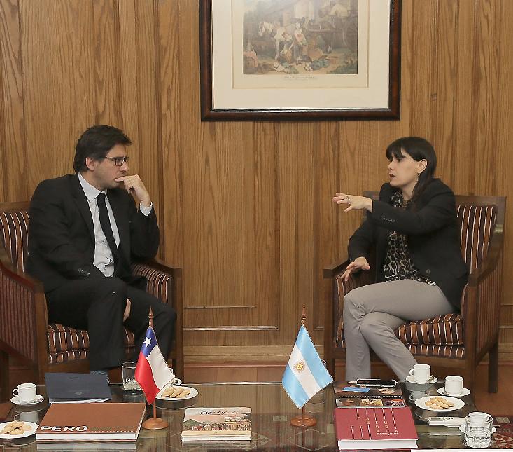 Garavano se reunió con su par de Justicia y Derechos Humanos en Chile