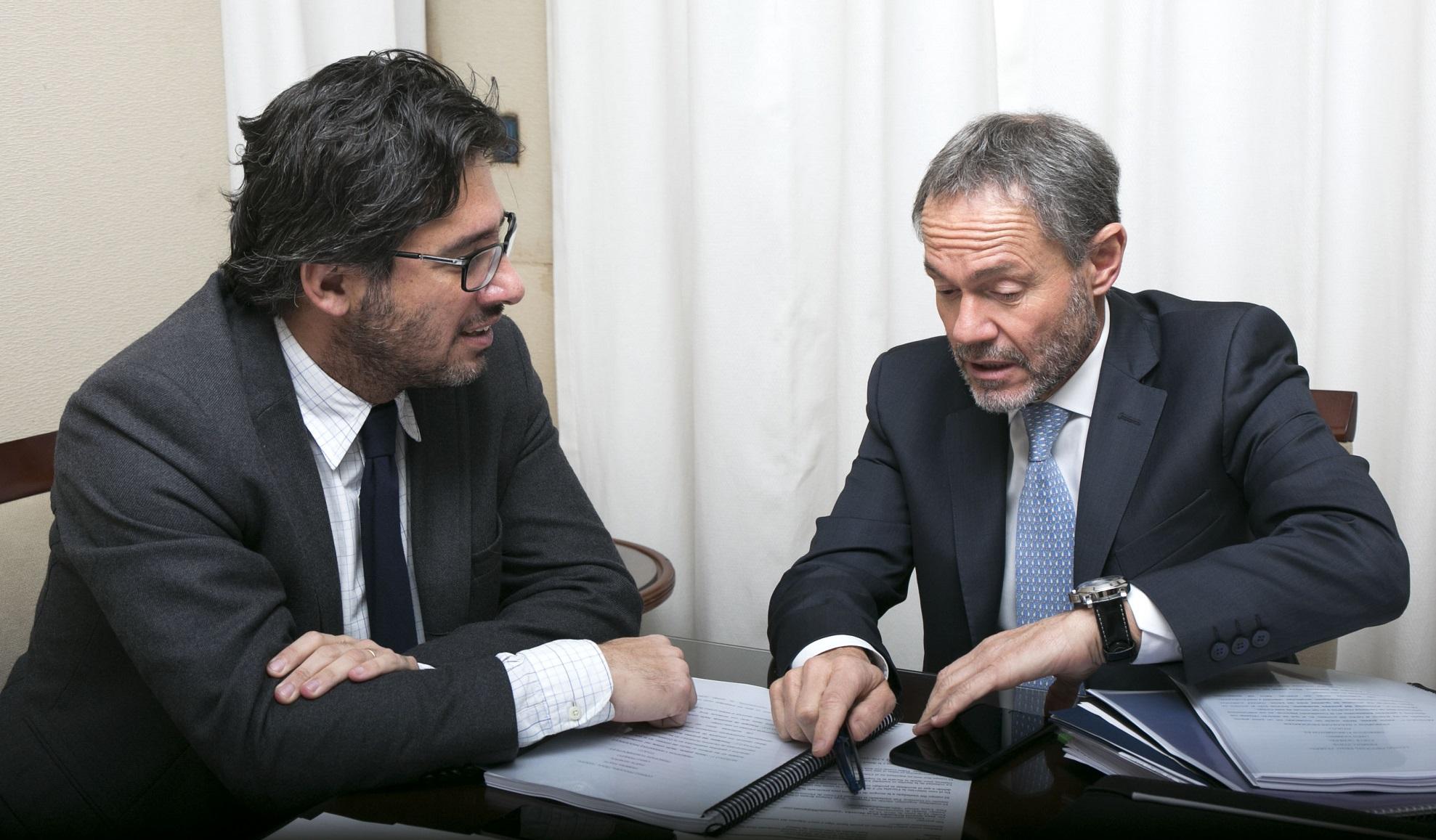 Cooperación con la provincia de Buenos Aires: Garavano se reunió con Ferrari
