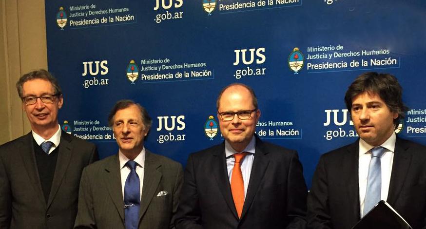 Reunión con autoridades del Ministerio de Justicia de Alemania