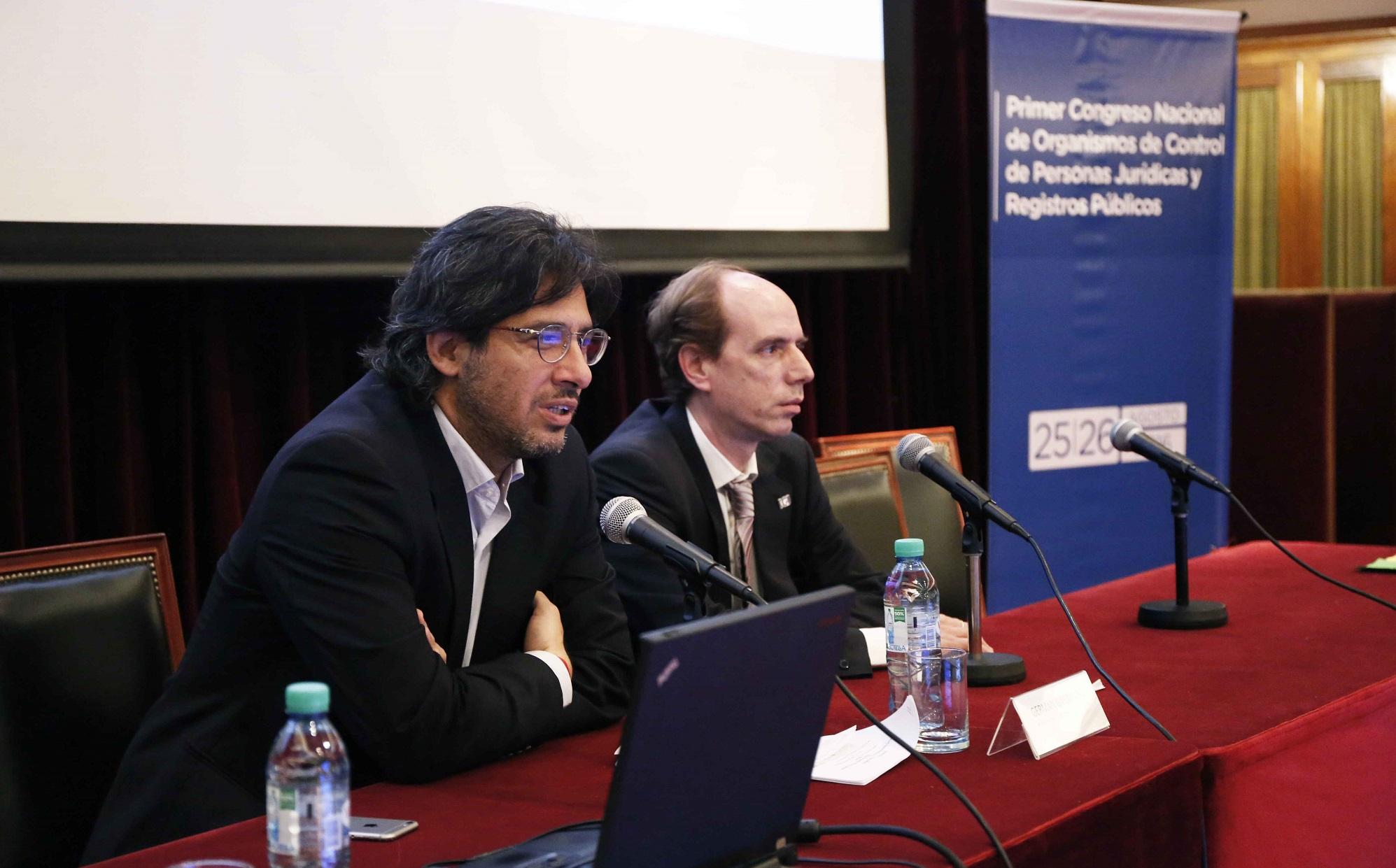 Garavano cerró el primer congreso nacional de organismos de control de personas jurídicas y registros públicos