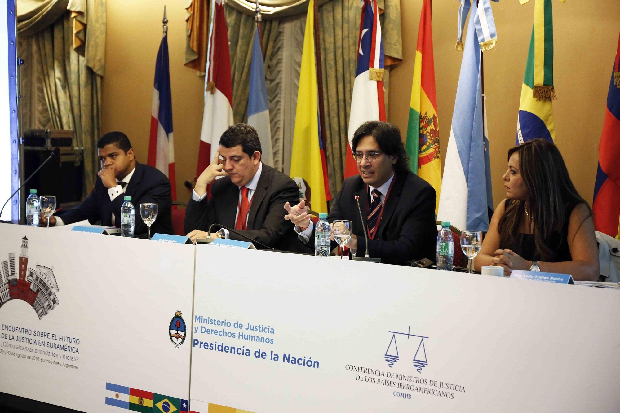 Garavano abrió el encuentro sobre el futuro de la justicia en Suramérica
