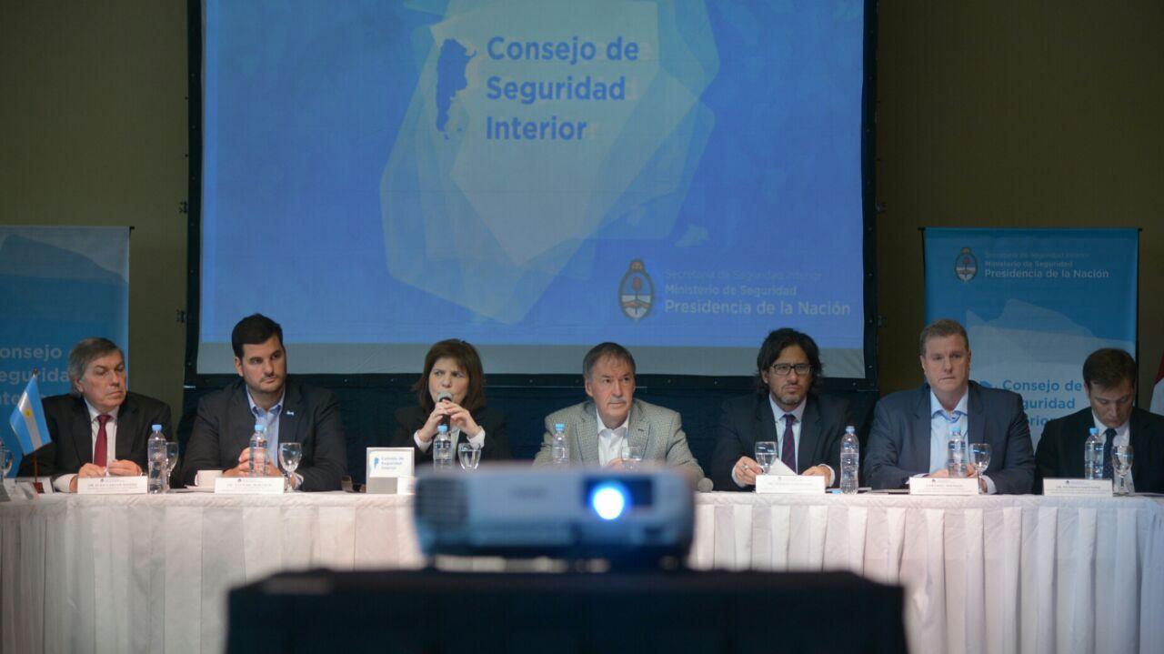 Respaldo del Consejo de Seguridad Interior a un proyecto de Justicia 2020