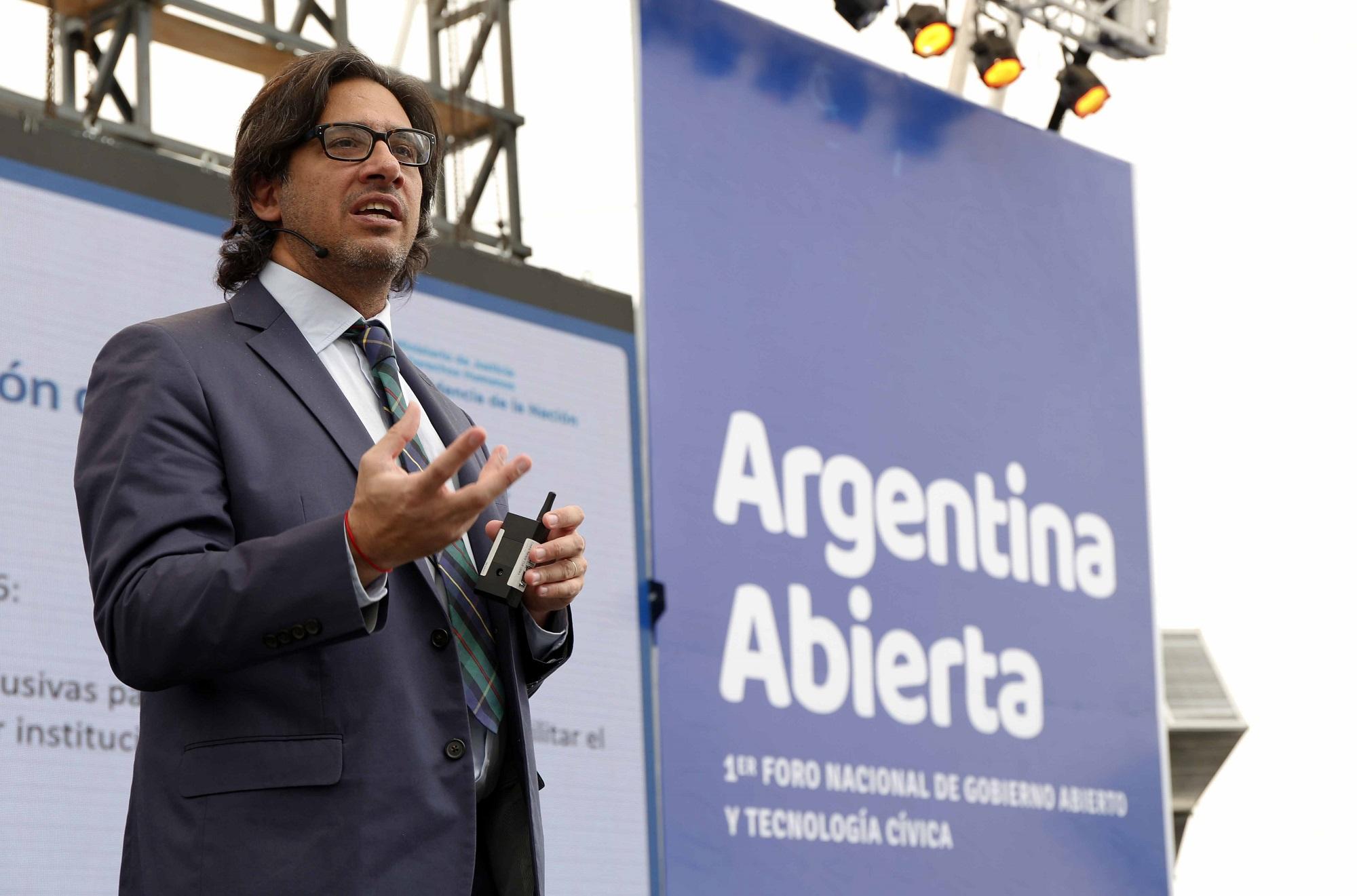 Justicia Abierta: Garavano presentó iniciativas de gobierno abierto en Tecnópolis