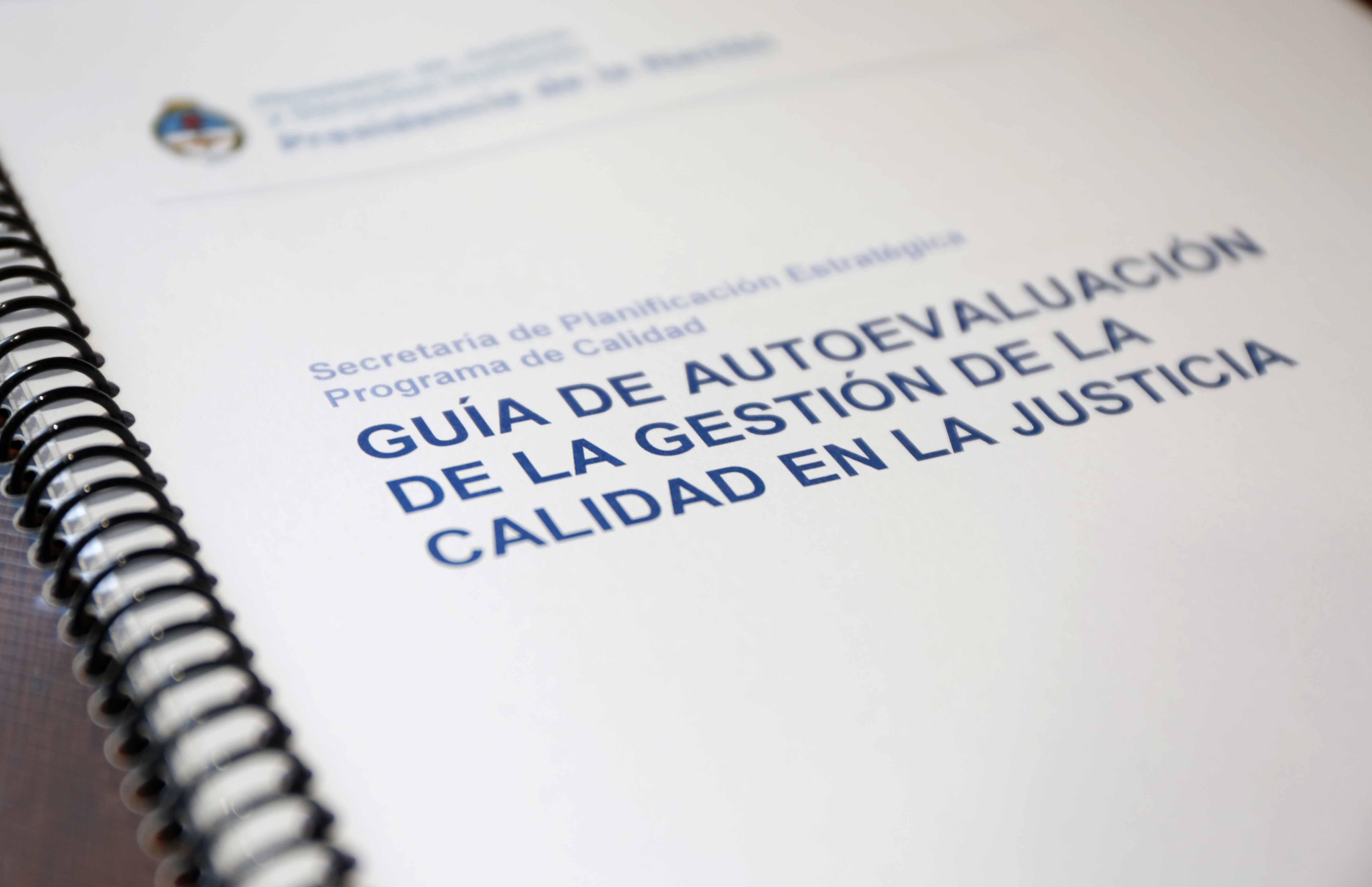 Capacitación sobre calidad en gestión judicial para magistrados