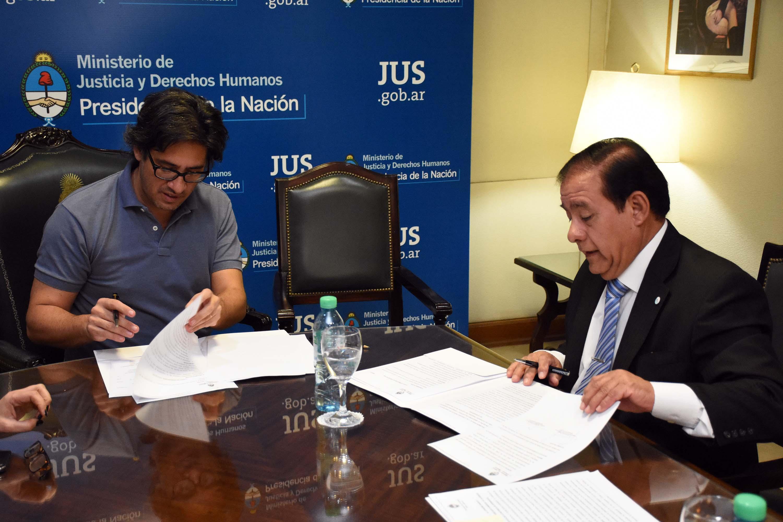 El Ministerio de Justicia capacitará a los poderes judiciales de Corrientes y San Luis