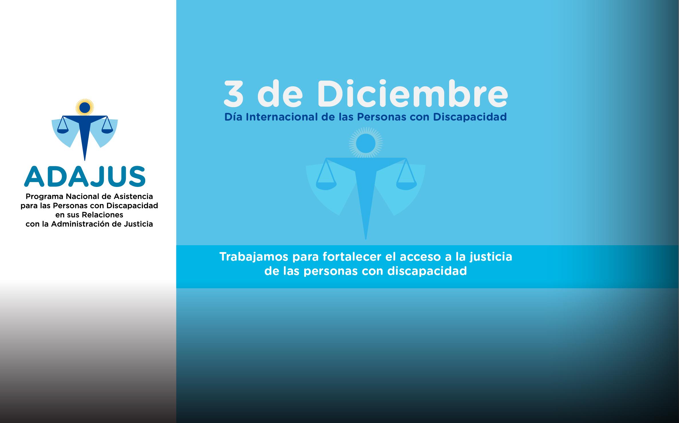Día Internacional de las Personas con Discapacidad.