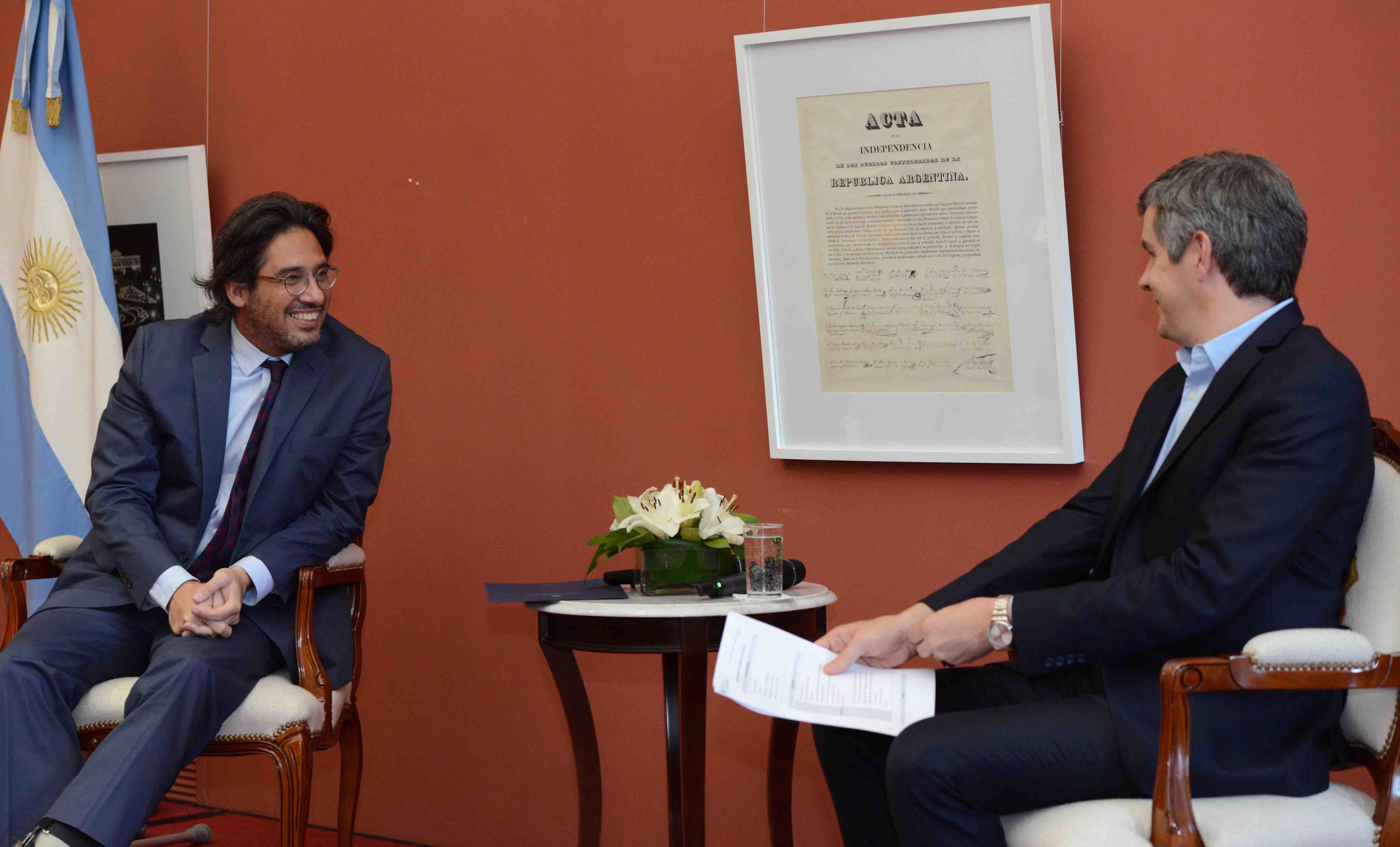 Peña y Garavano presentaron el Premio Nacional a la Calidad en la Justicia