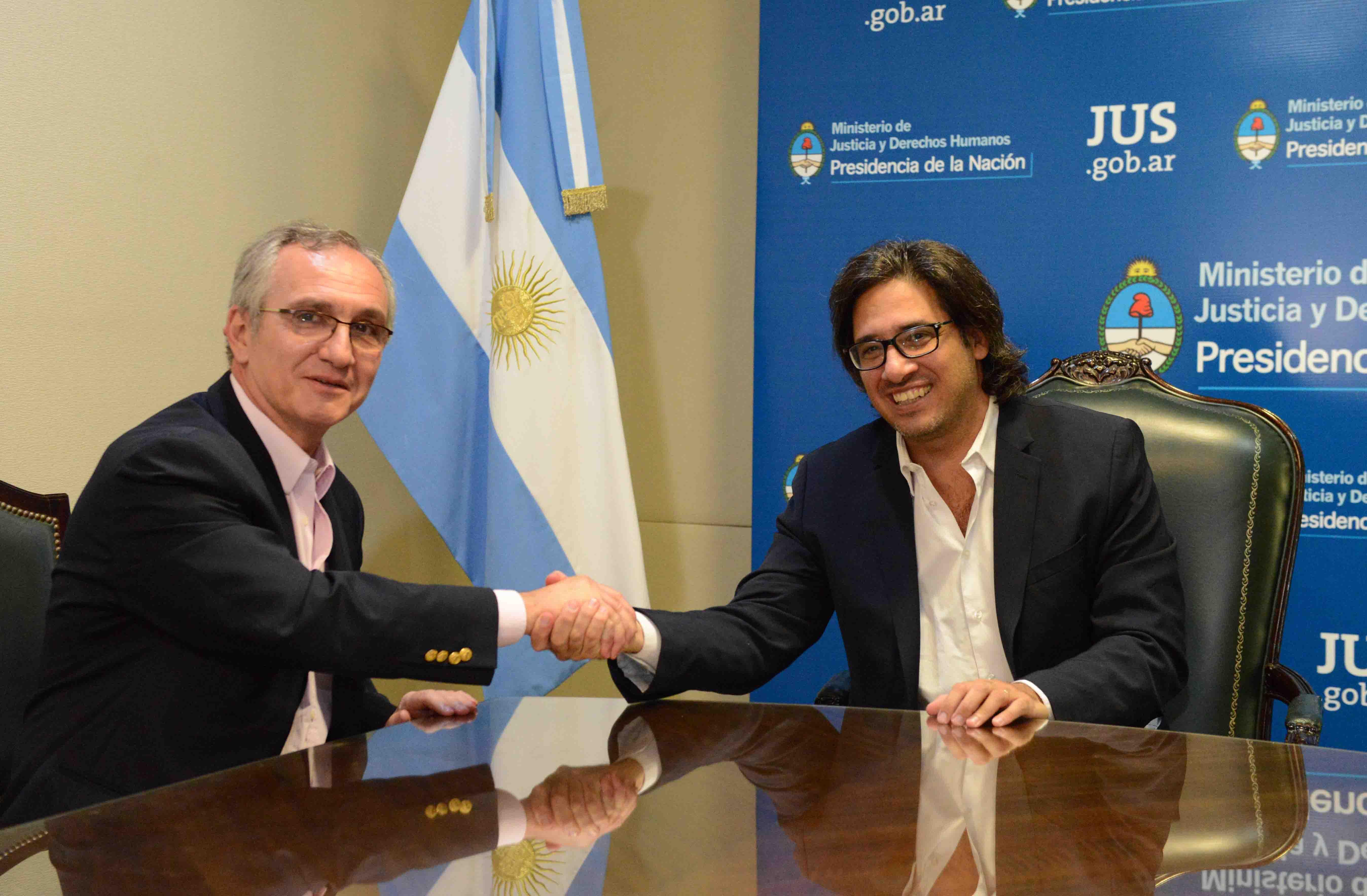 Lucha contra la corrupción: Garavano y Lipera firman acuerdo de cooperación académica