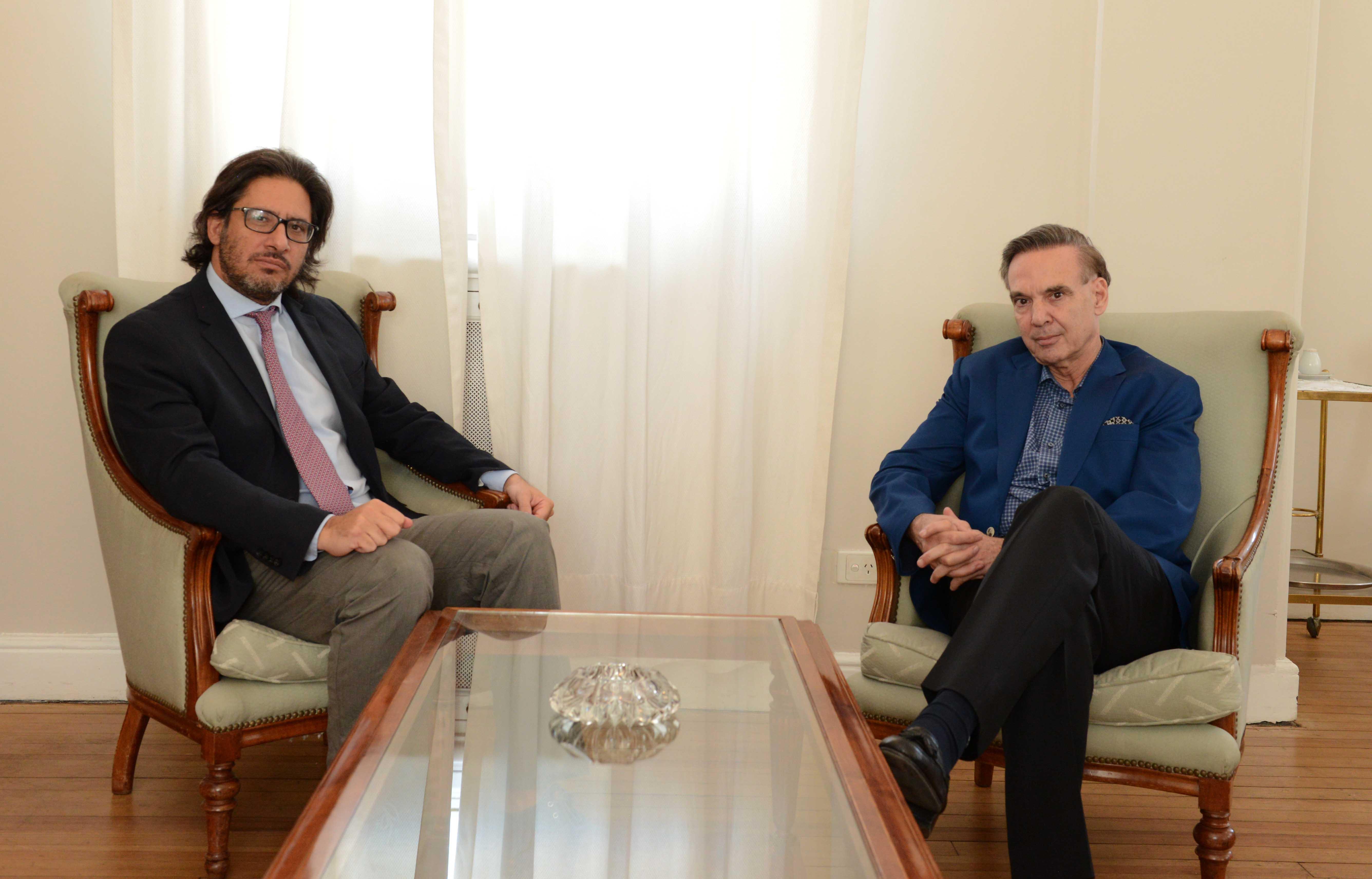 Garavano y Pichetto discutieron agenda legislativa 2017