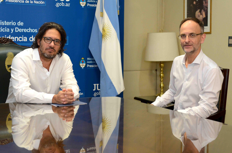 Garavano recibió al procurador del Tesoro Carlos Balbín