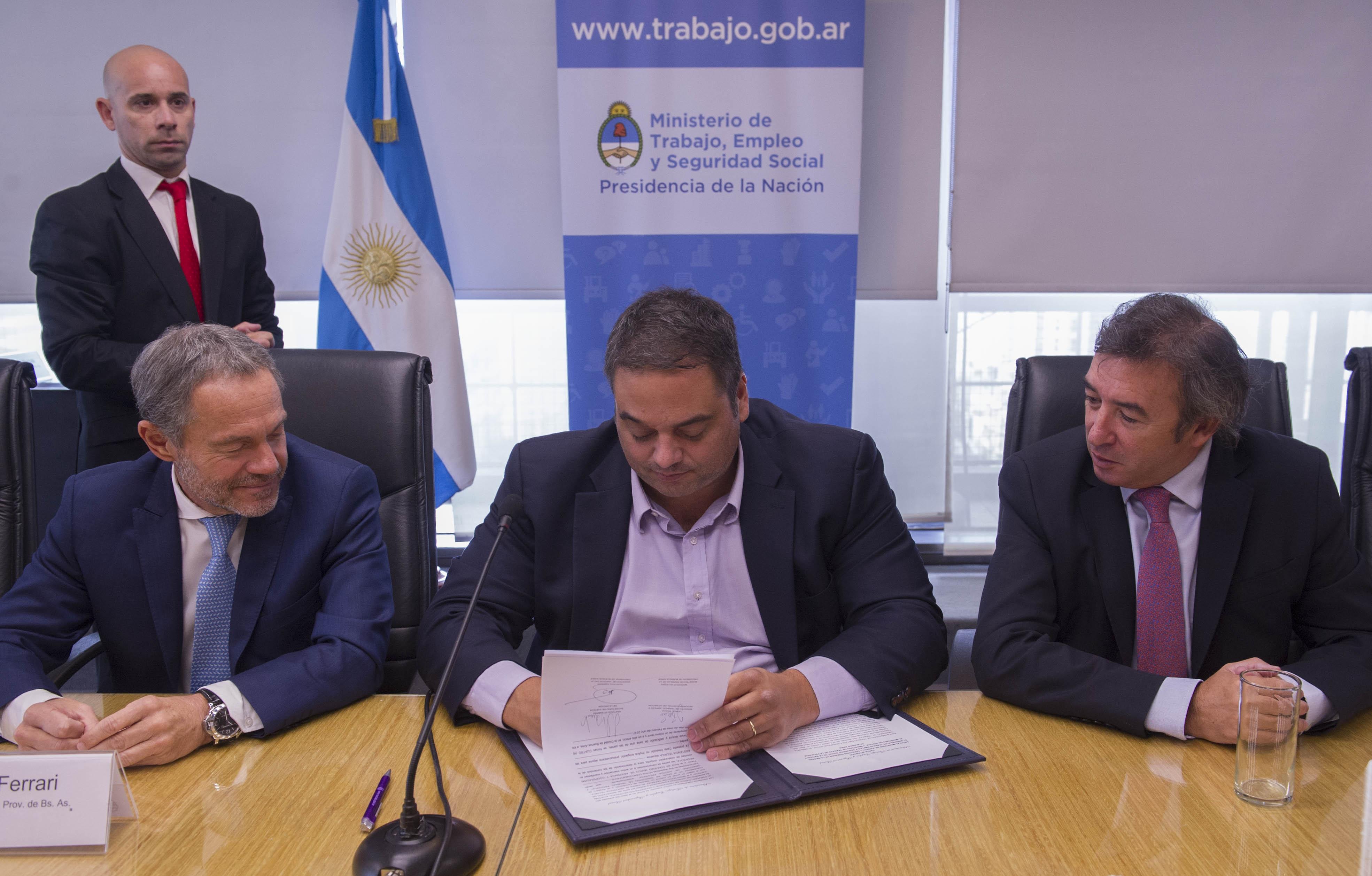 Nación y Provincia de Buenos Aires crearán un servicio de conciliación laboral