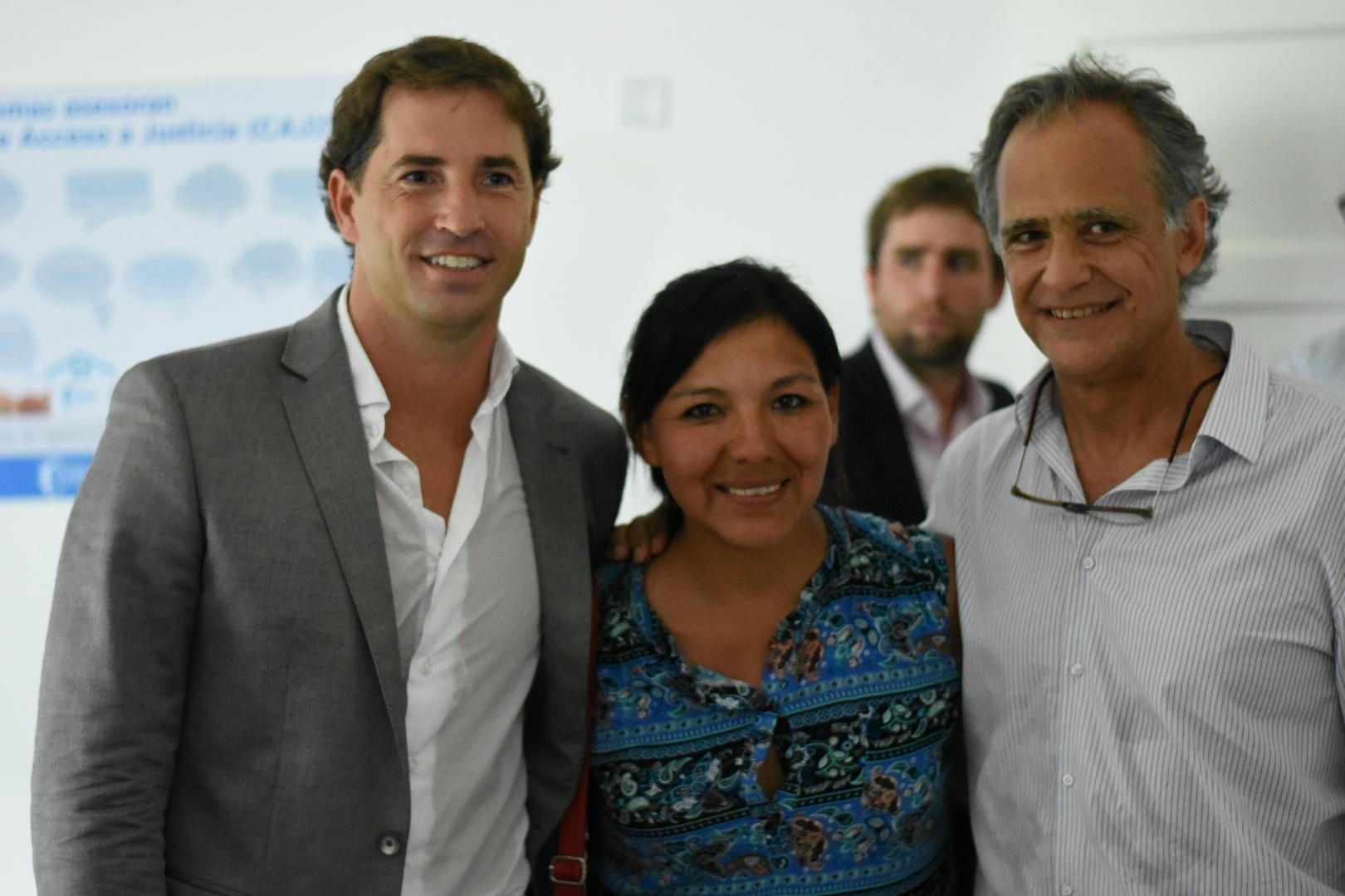 El Ministerio inauguró el primer Centro de Acceso a la Justicia en Esteban Echeverría