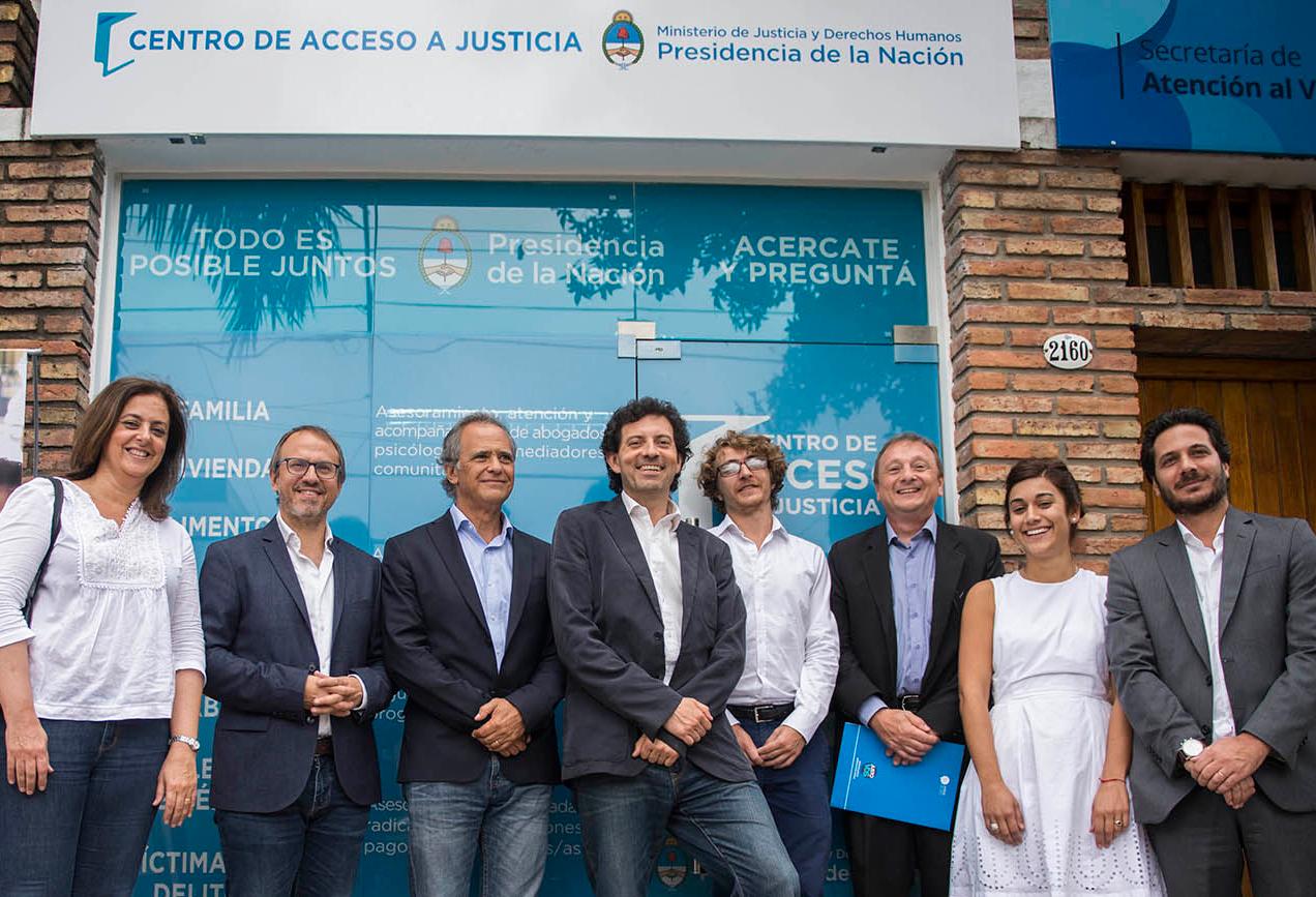 El Ministerio de Justicia firmó un convenio con el Municipio de Tres de Febrero