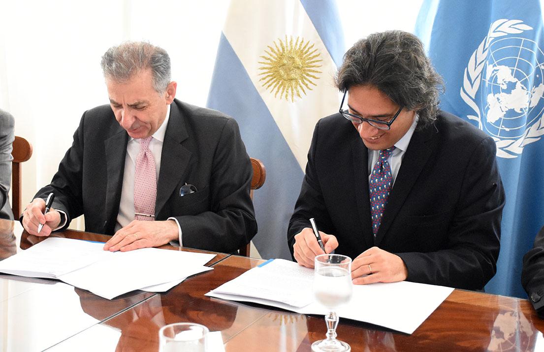 Argentina estrecha lazos con la ONU para el combate del terrorismo