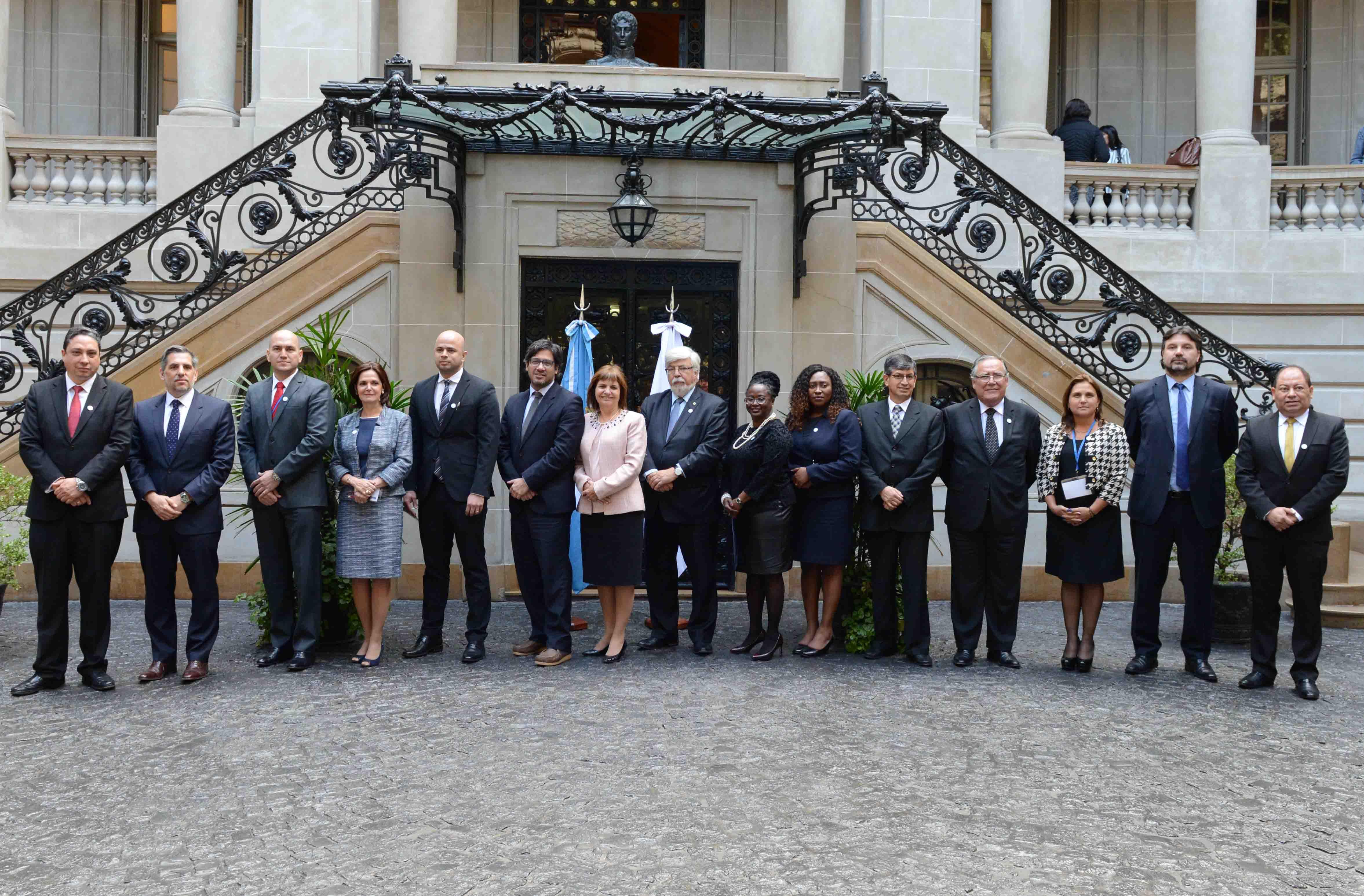 Bullrich y Garavano encabezaron la XLV Reunión de Ministros del Interior, Seguridad y Justicia del Mercosur