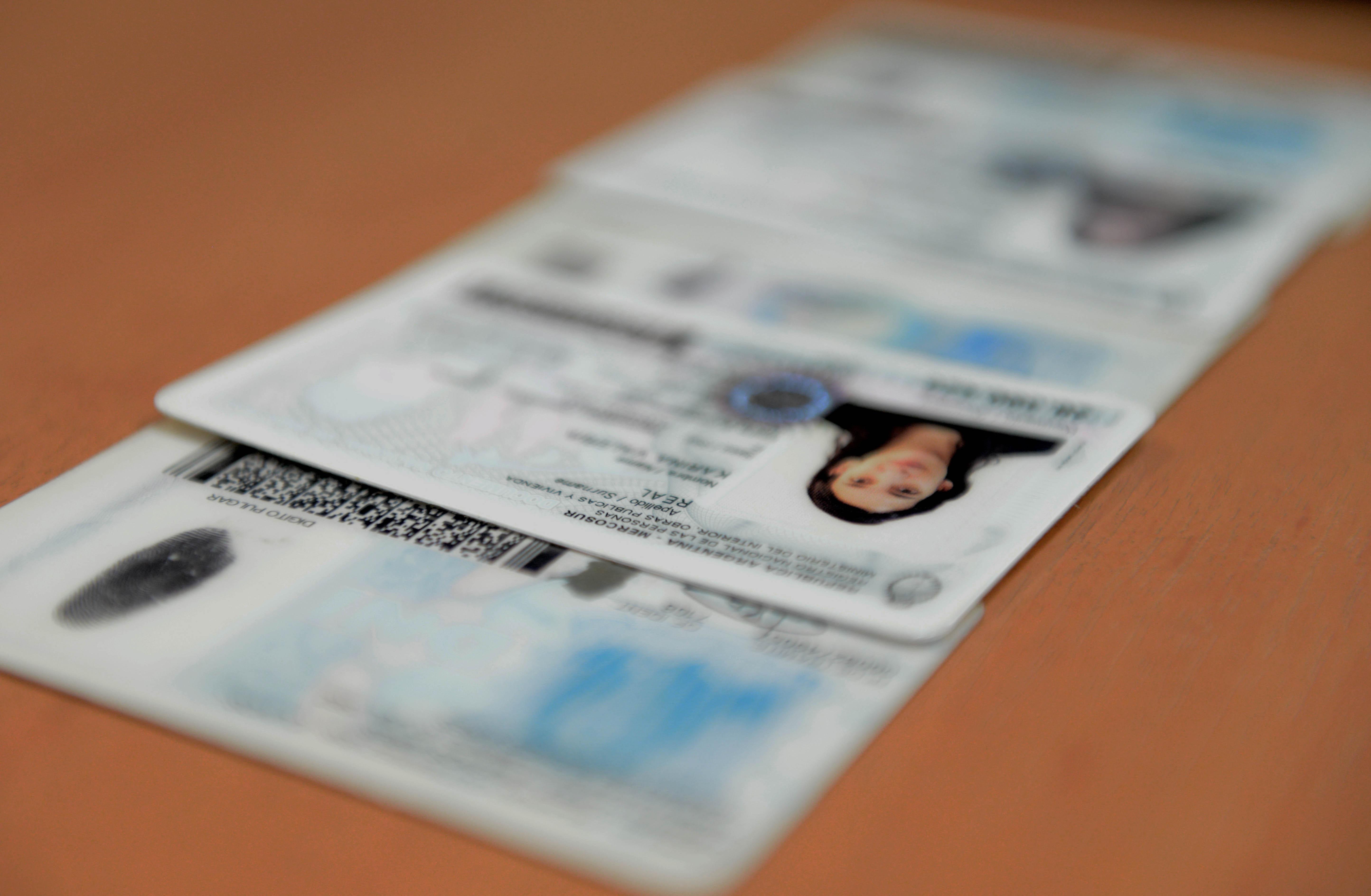 Registro para prevenir el robo de identidad