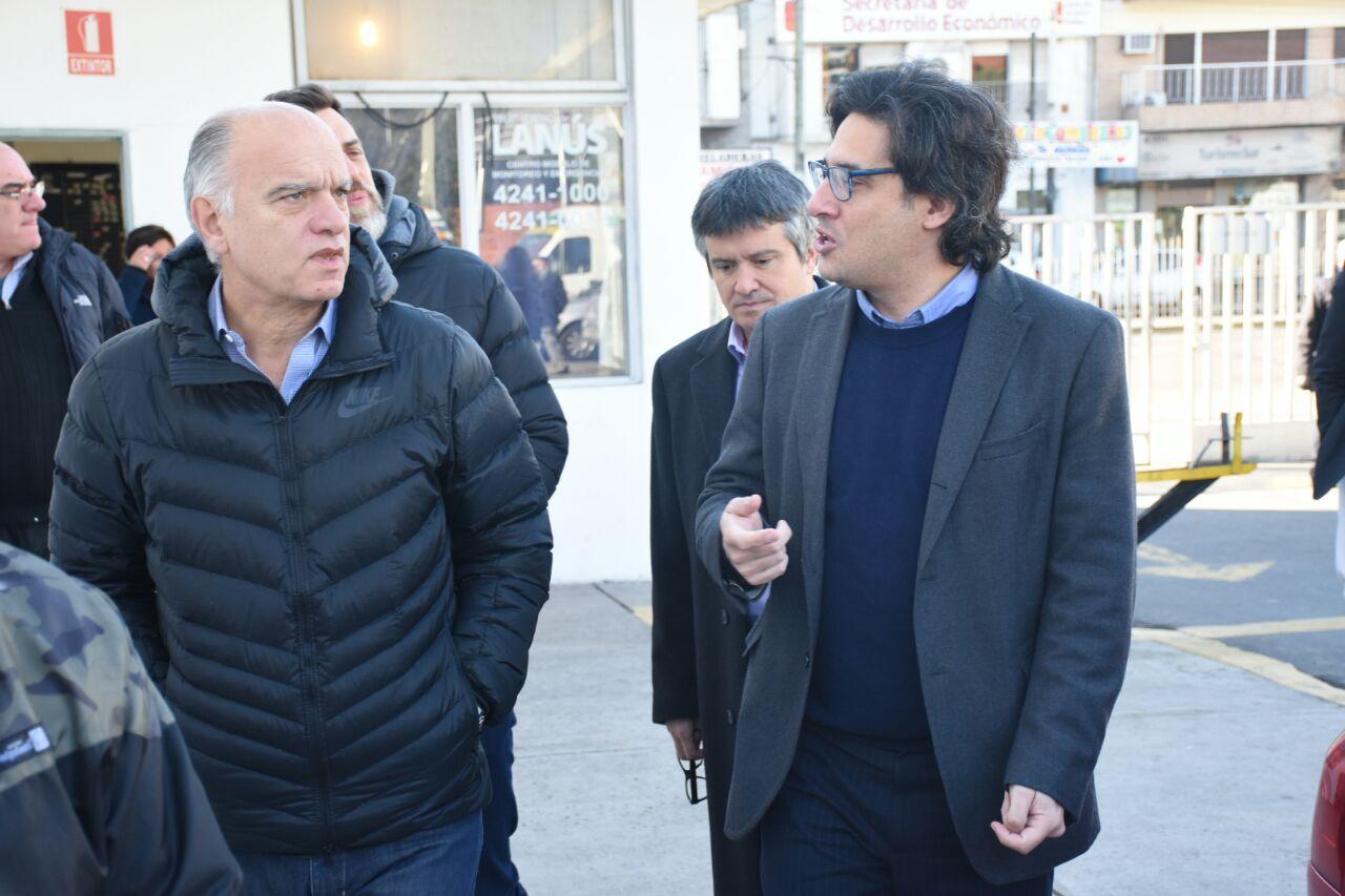 Garavano visitó la nueva sede de Reincidencia en Lanús