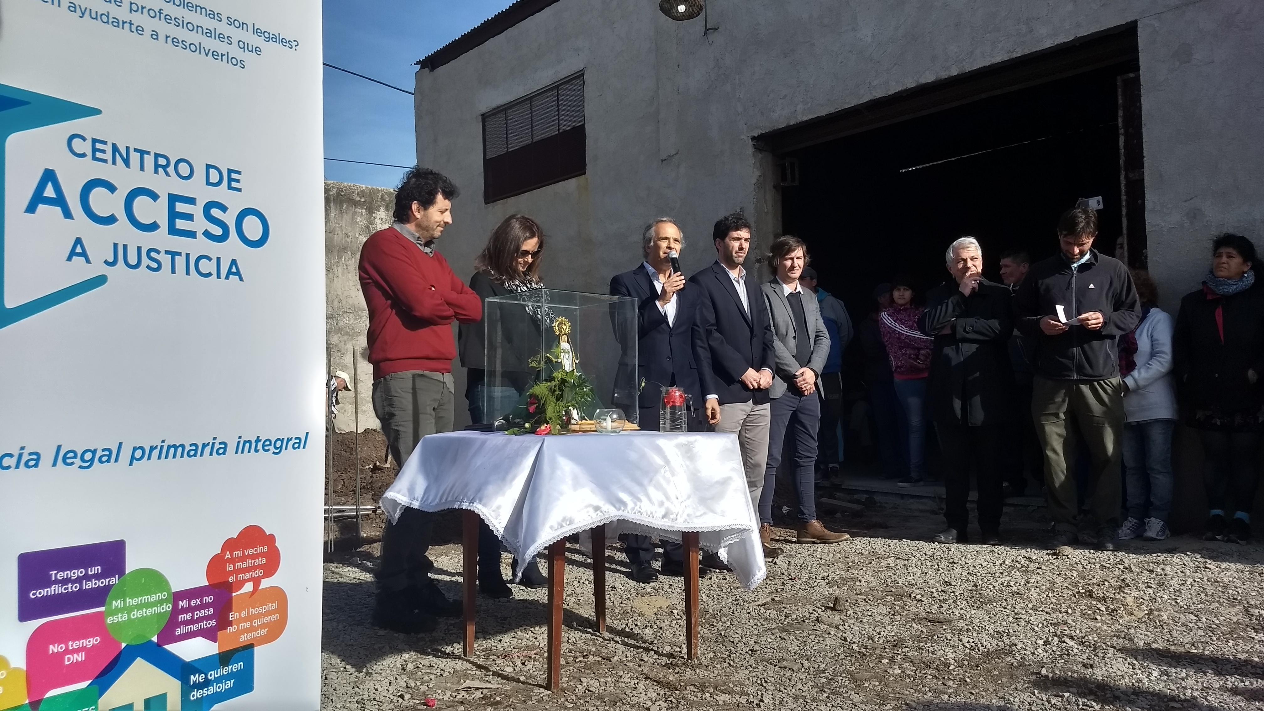 Nuevo Centro de Acceso a Justicia en el Barrio 17 de Marzo, La Matanza