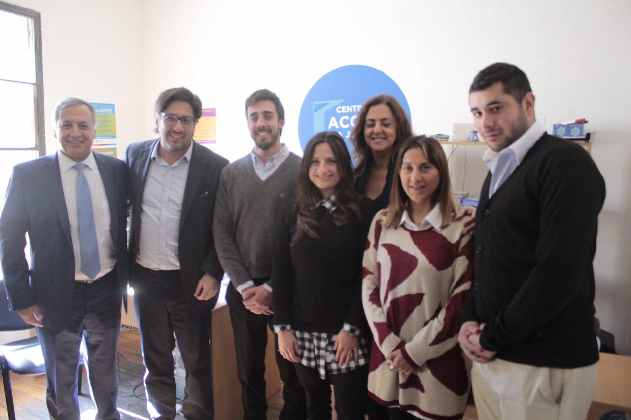 Garavano visitó Mendoza