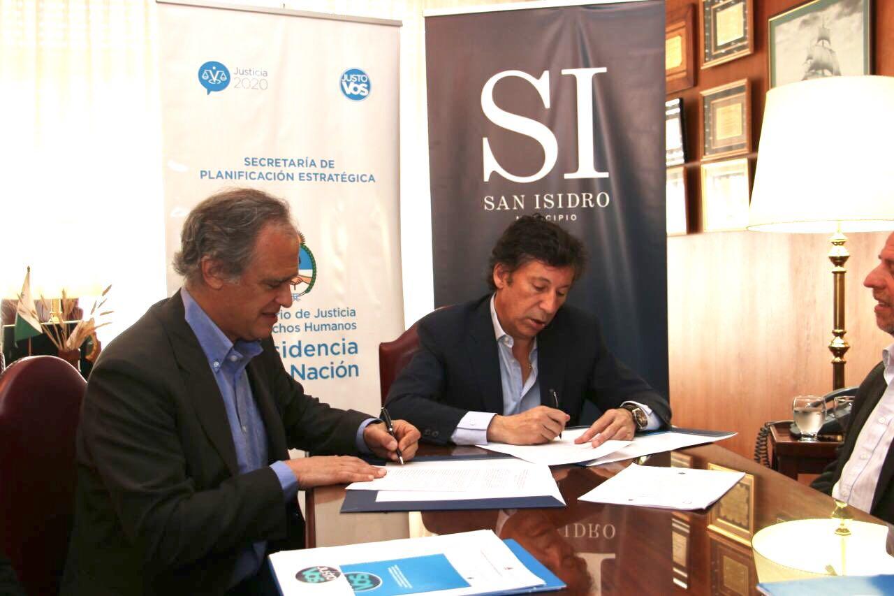 El programa Justo Vos se implementará en San Isidro