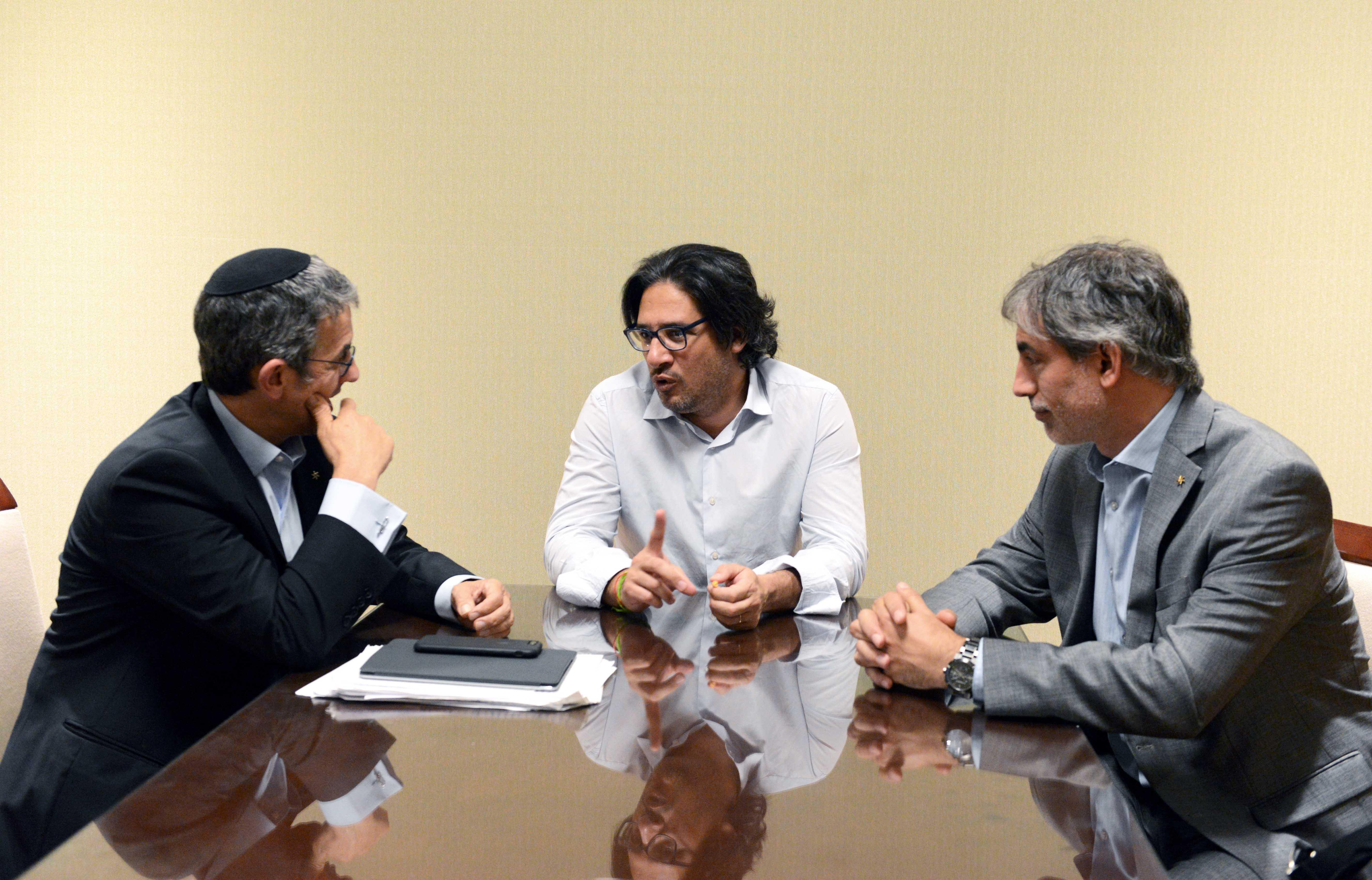 Garavano se reunió con autoridades de la AMIA