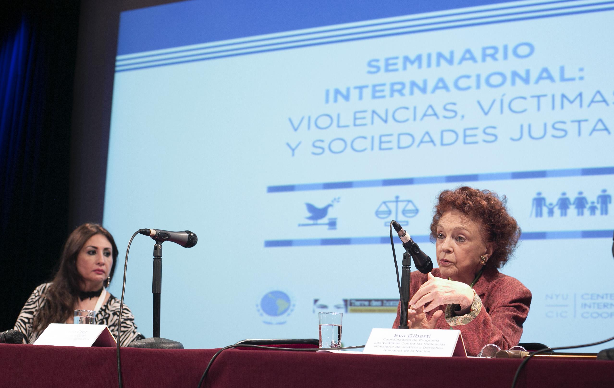 Seminario Internacional: Violencias, víctimas y sociedades justas