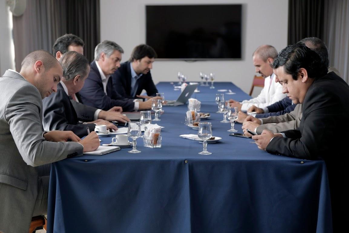 Nicolás Negri recibió a la Asociación Iberoamericana de Derecho Penal Económico y de la Empresa