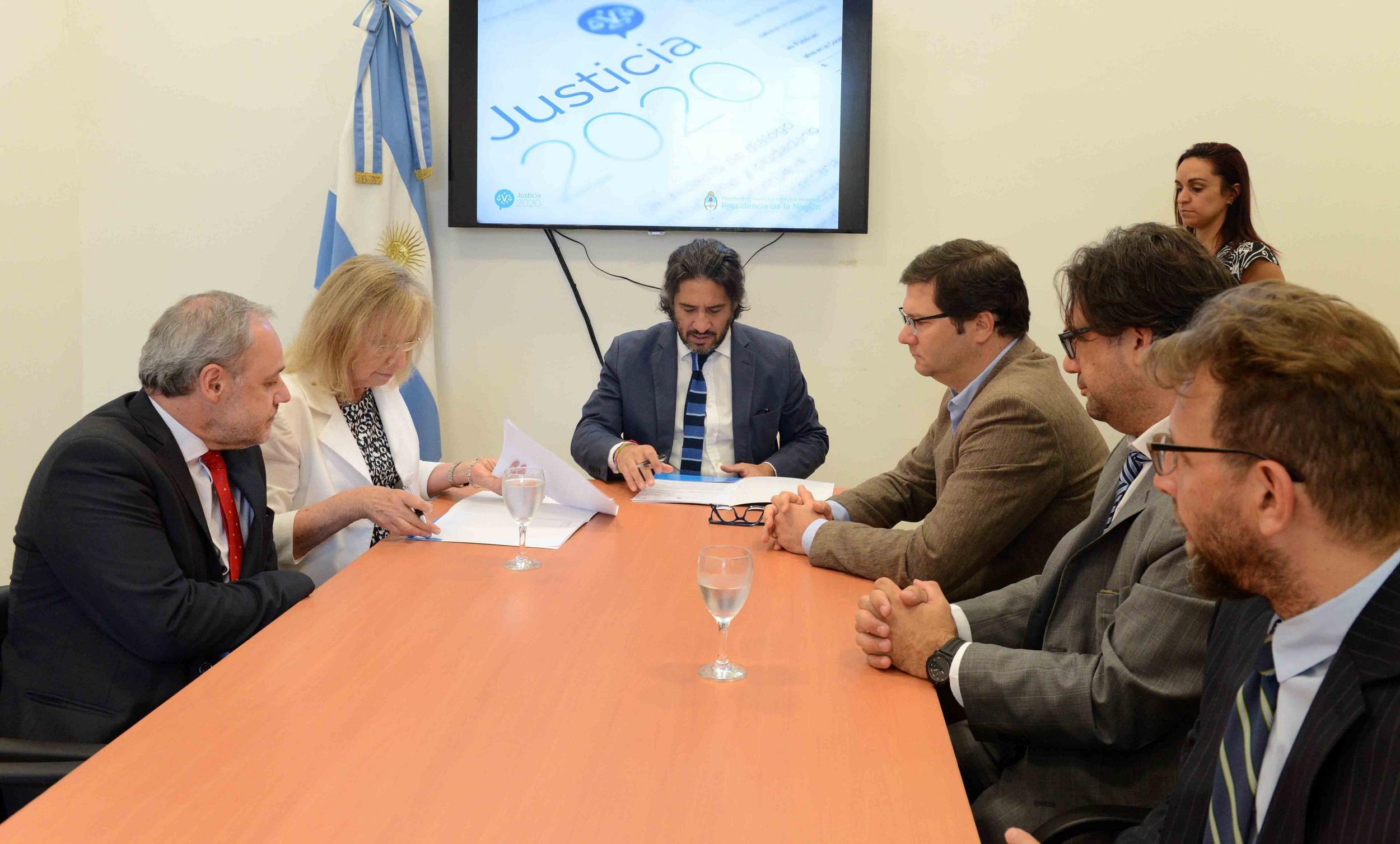 Cooperación entre Nación y provincia de Buenos Aires para fortalecer el sistema de administración de justicia