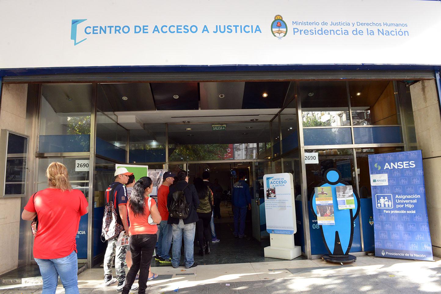 Los Centros de Acceso a Justicia atendieron más de 314 mil consultas en un año