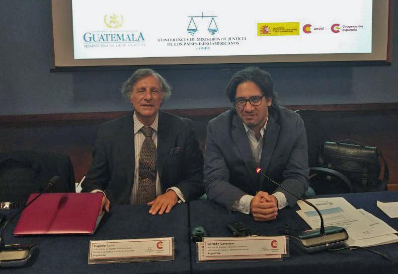 Garavano presentó las bases de Política Criminal en la Asamblea Iberoamericana de Ministros de Justicia