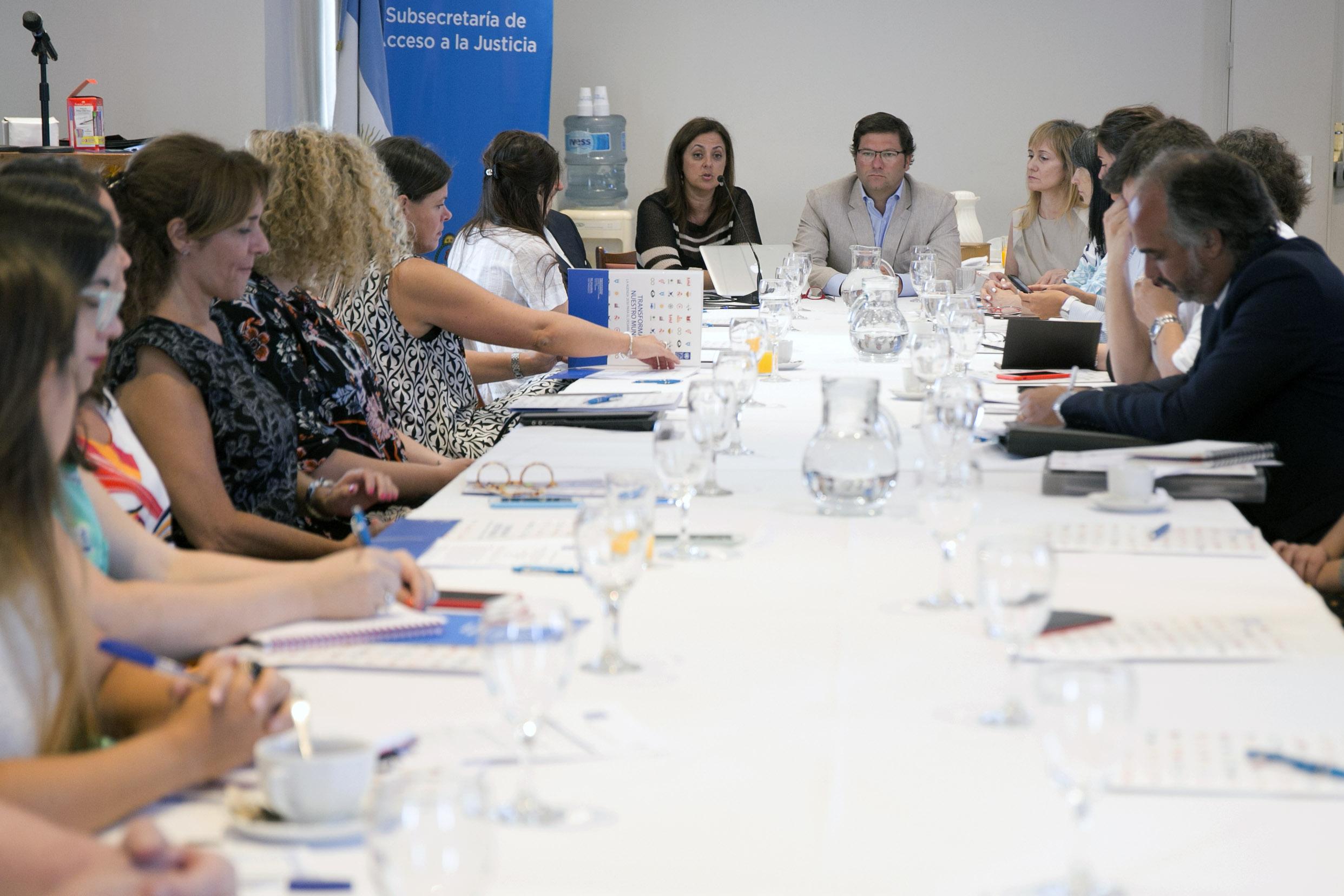 El Ministerio de Justicia y Naciones Unidas realizaron un taller sobre prevención y lucha contra la trata de personas