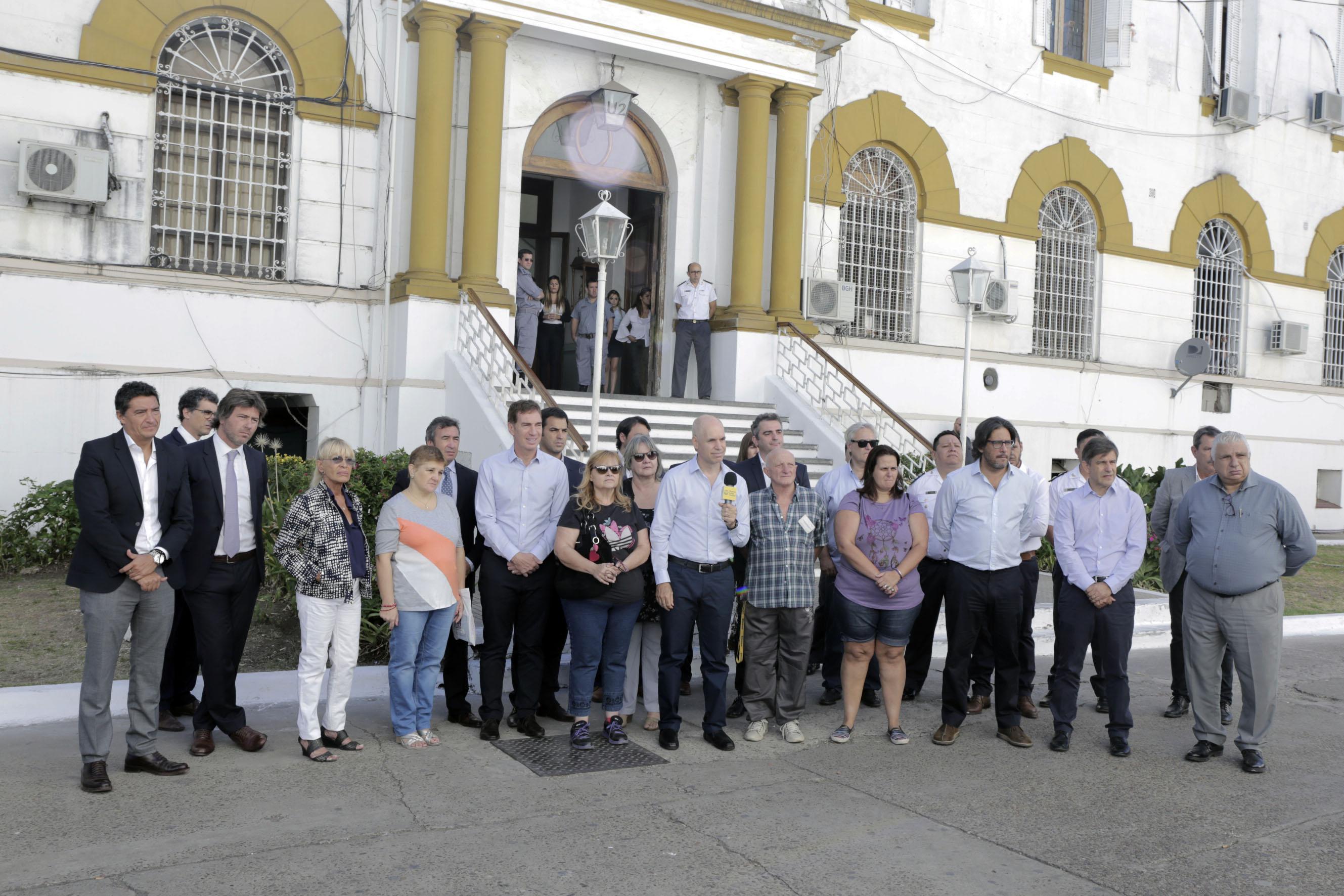 Traslado de la cárcel de Devoto a Marcos Paz