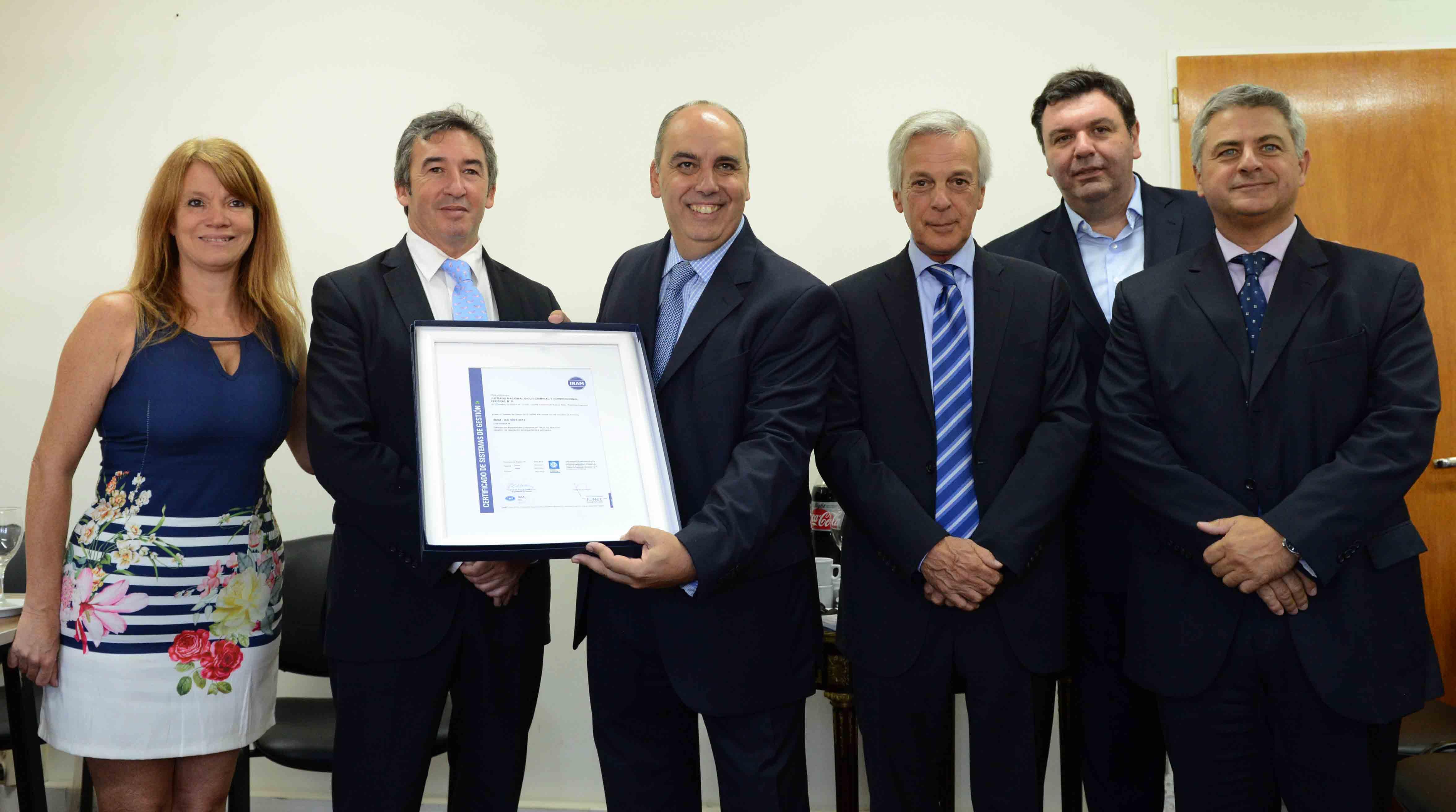Organismos judiciales de todo el país trabajan en la certificación de estándares de calidad