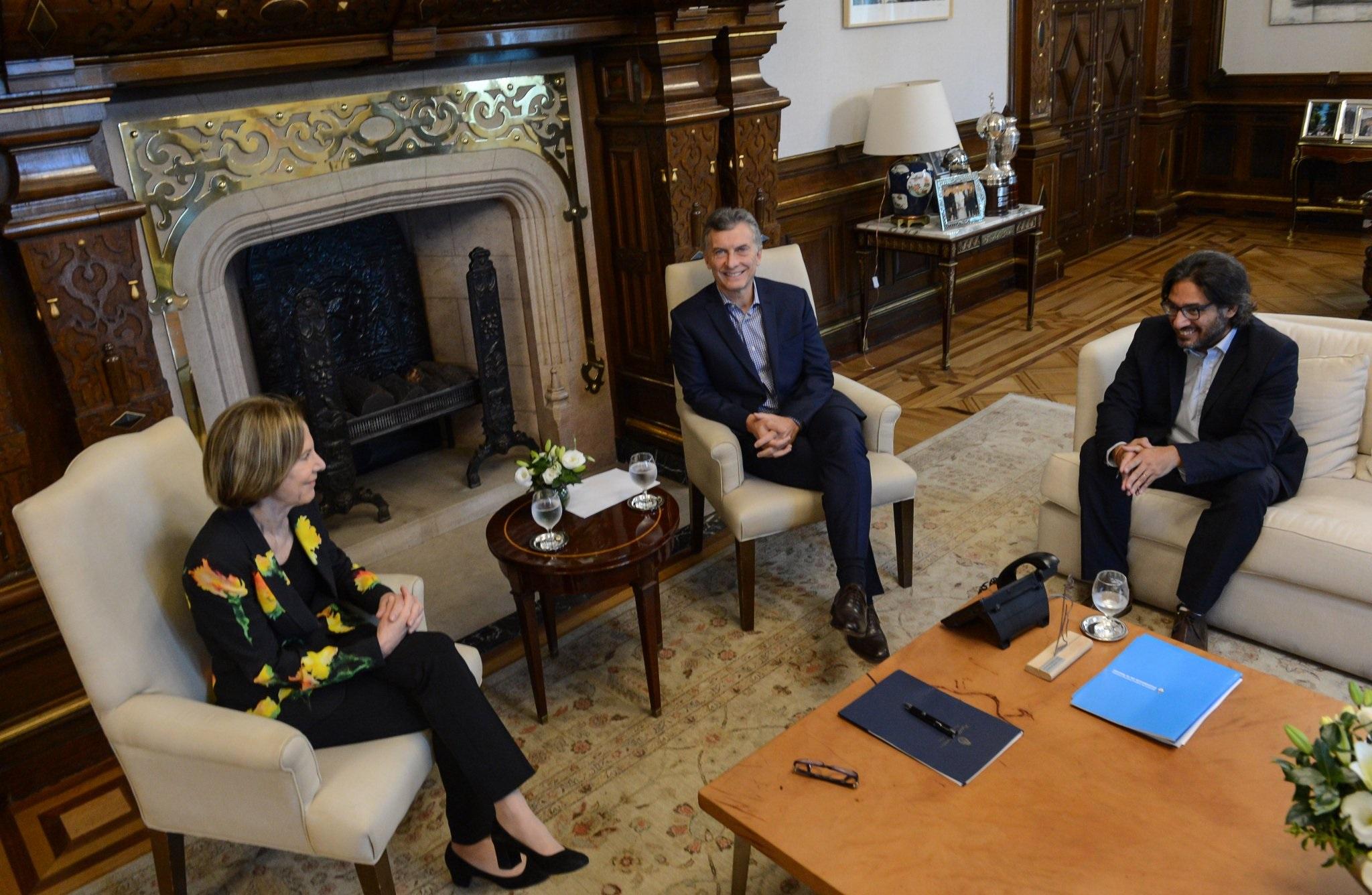 Macri se reunió con Weinberg de Roca y le ofreció formalmente el cargo de Procuradora General de la Nación