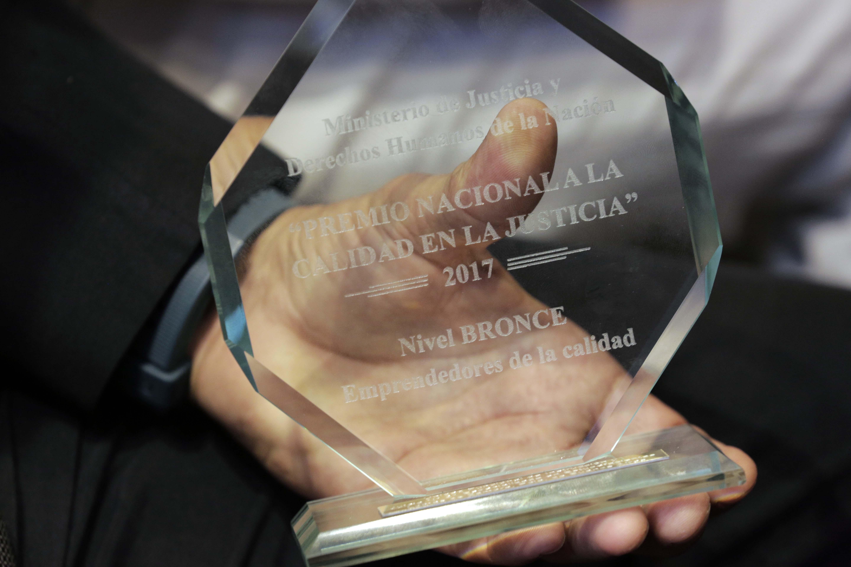 Segunda edición del Premio Nacional a la Calidad en la Justicia