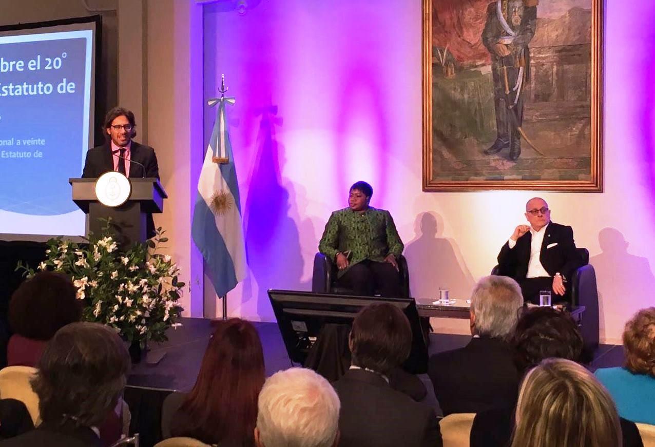 """Garavano: """"La Argentina siempre ha estado comprometida con la Corte Penal Internacional"""""""
